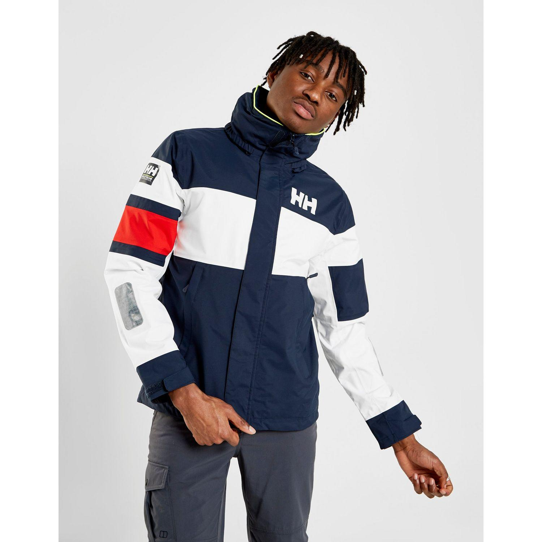 de70c98b90 Helly Hansen Colour Block Jacket in Blue for Men - Lyst