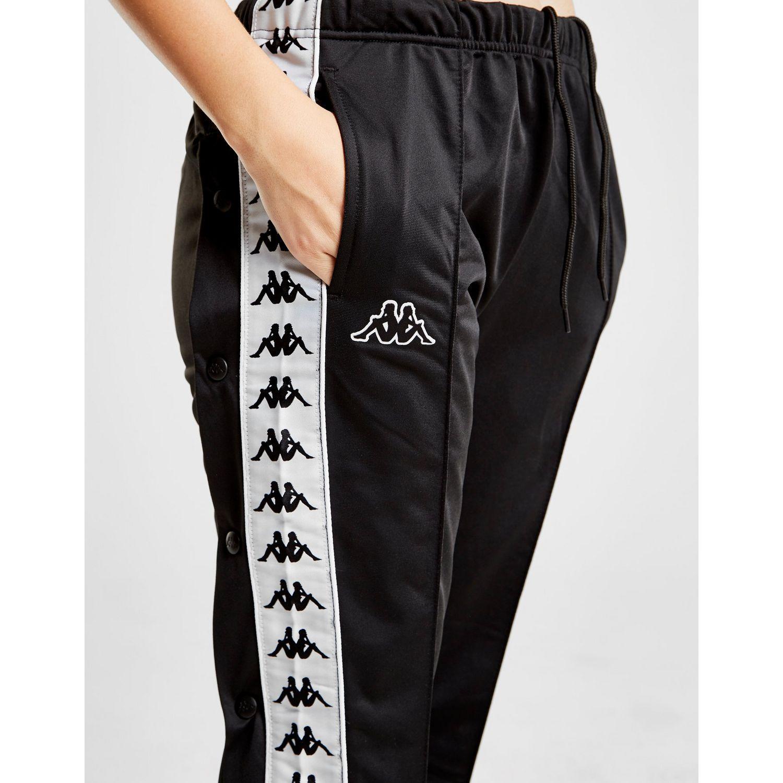 d66455d82f10 Kappa - Black Banda Popper Pants - Lyst. View fullscreen
