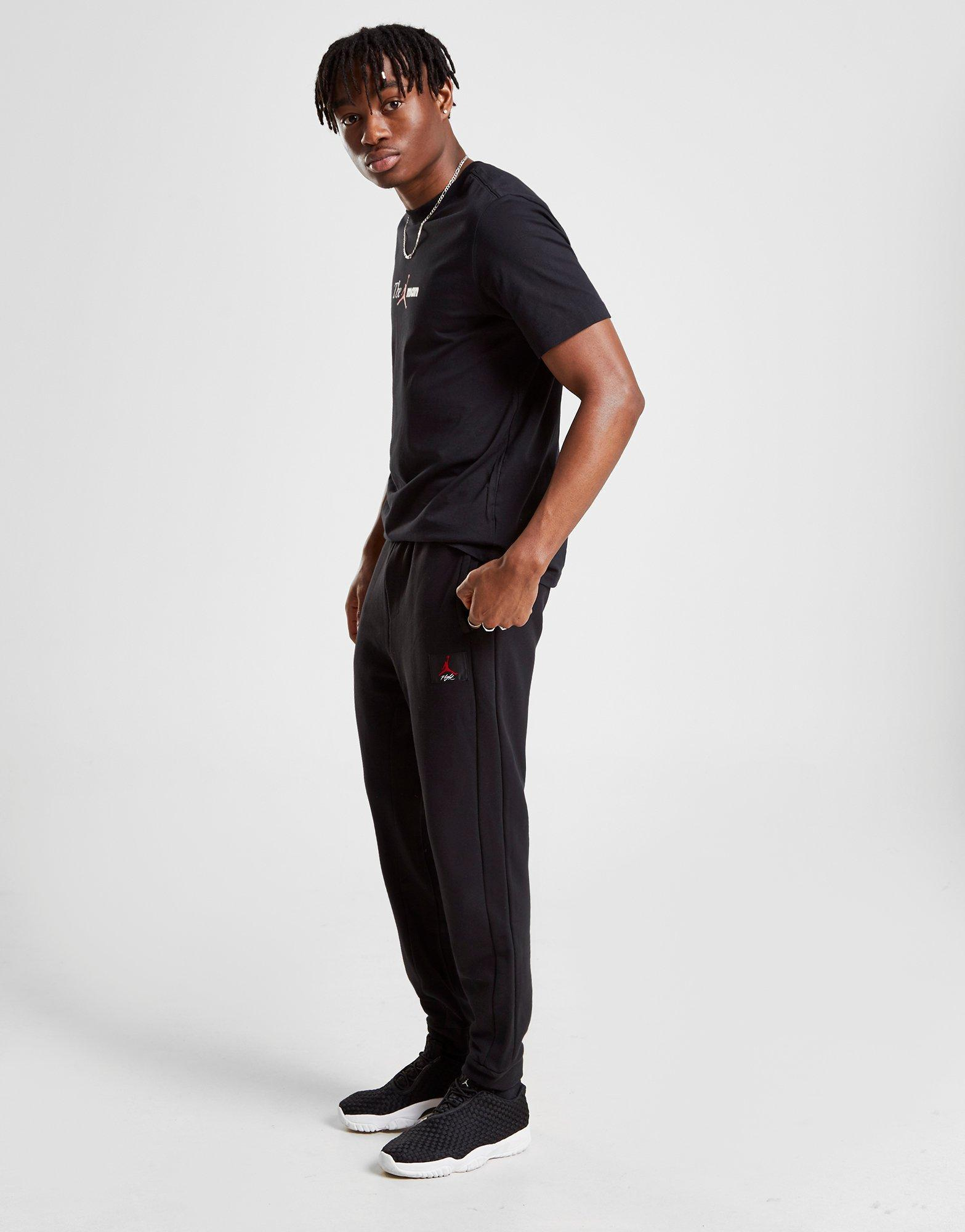 bd7196b081bf2a Lyst - Nike Jordan Flight Men s Trousers in Black for Men