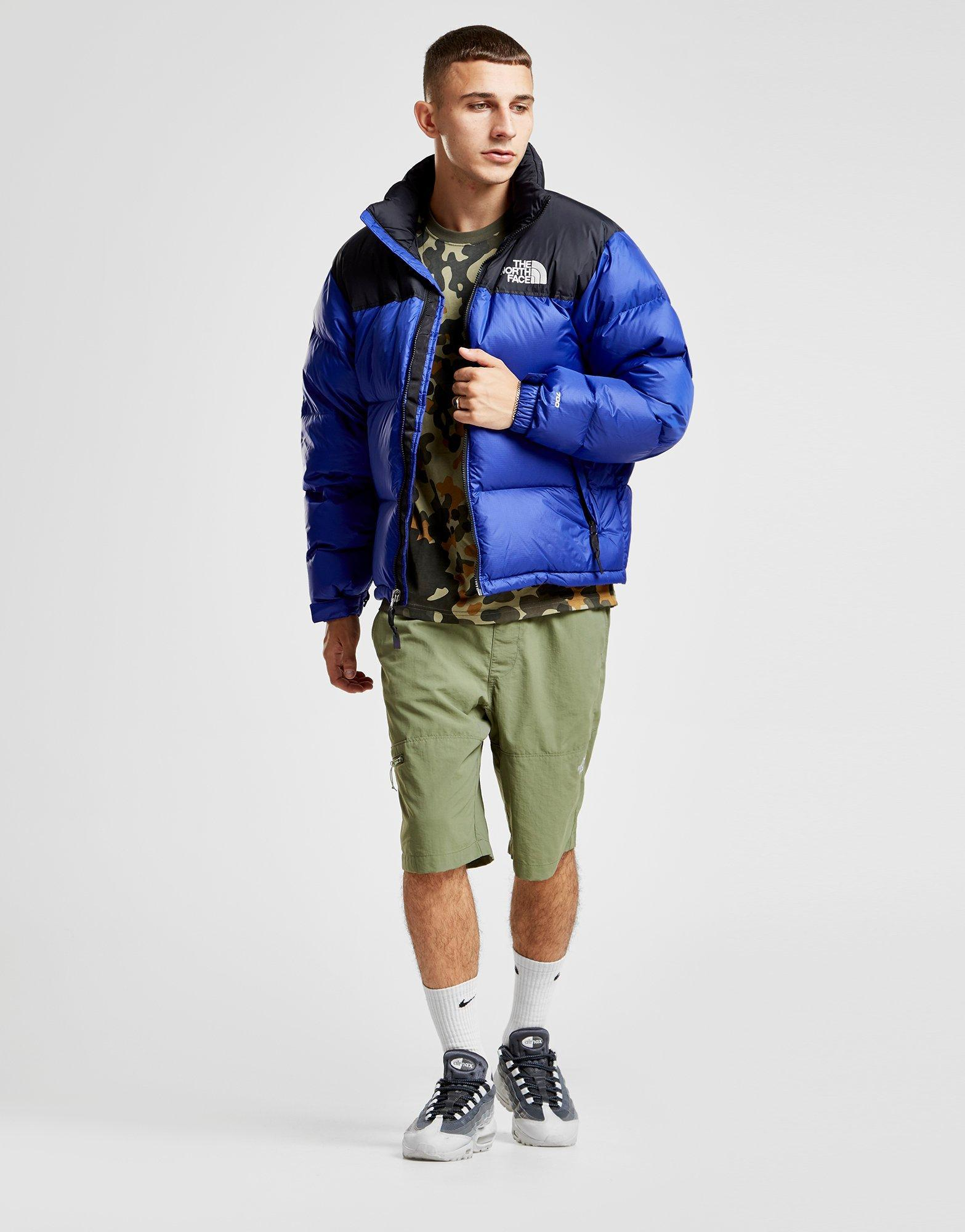 94a79ff481 Mens Black Nuptse Bib Trousers best service 156be c8c4f  Lyst - The North  Face Nuptse 1996 Jacket in Blue for Men new arrivals a9569 294f1 ...