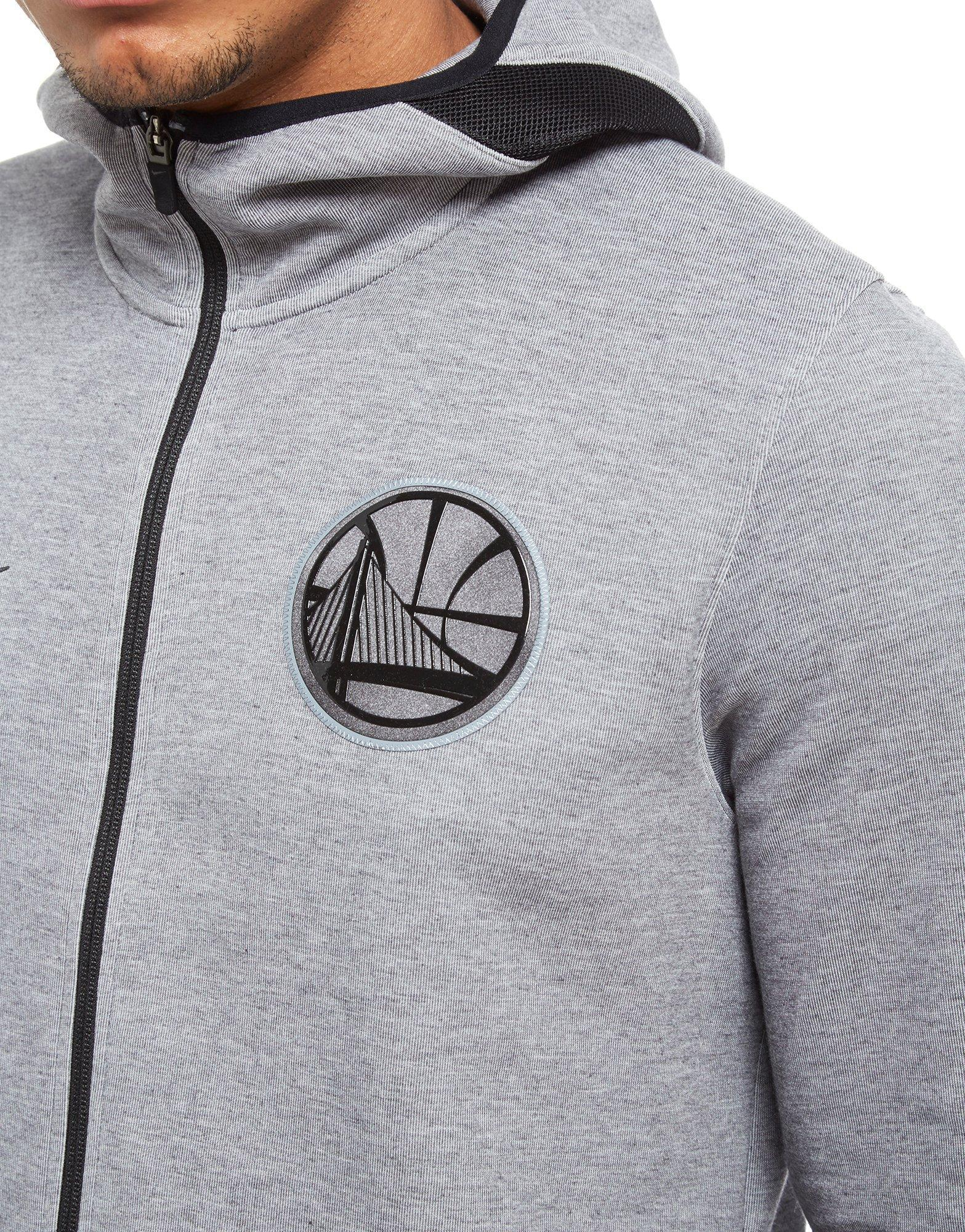 ff6f4ae4fa5 Lyst - Nike Nba Golden State Warriors Therma Flex Hoodie in Gray for Men