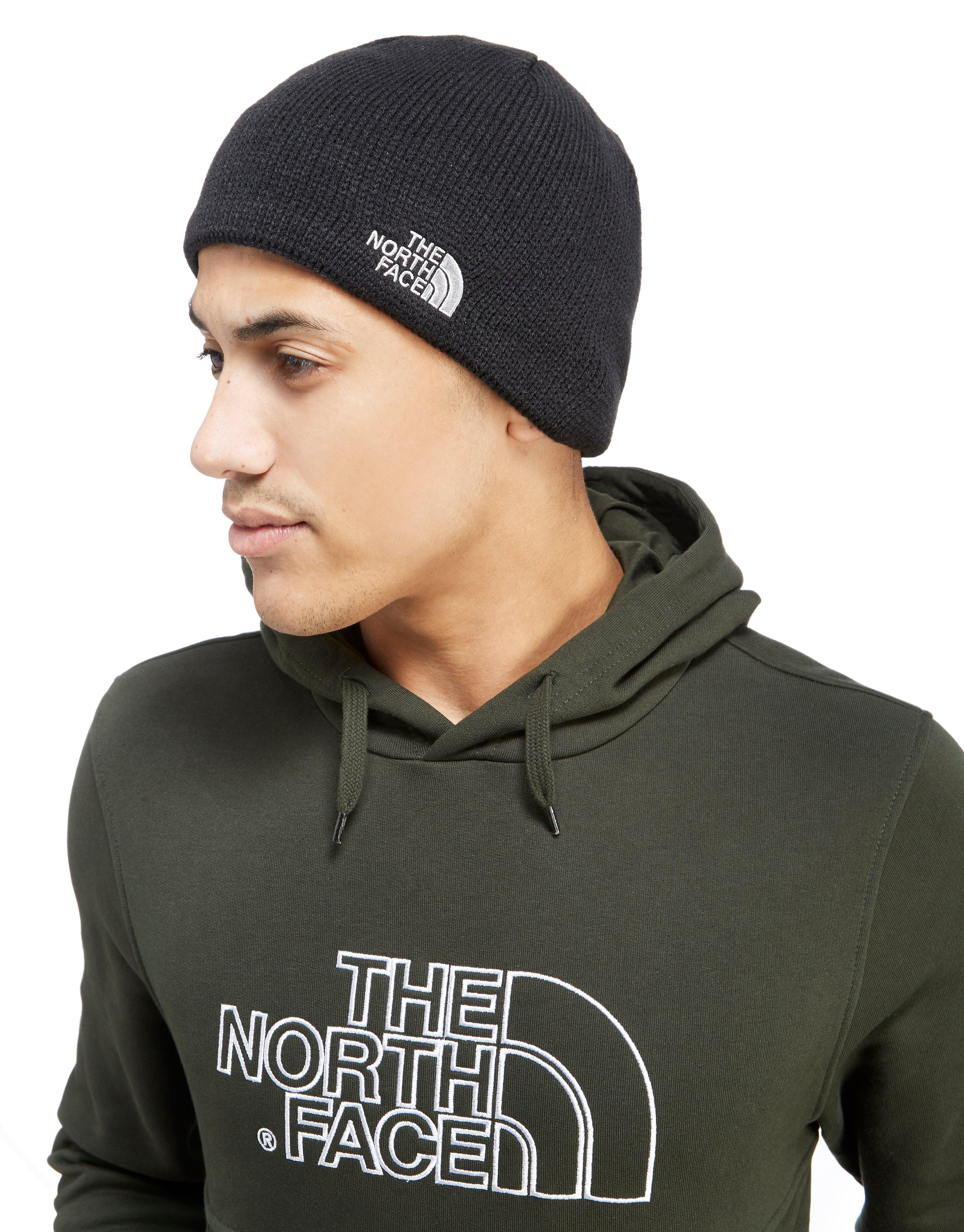 Lyst - The North Face Bones Beanie Hat in Black for Men fffc34a9a79