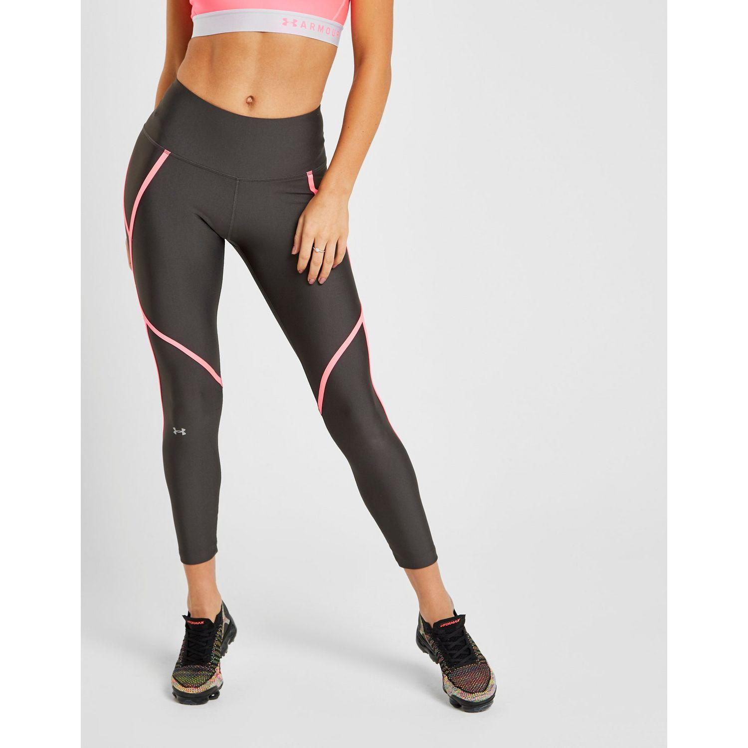 ff416d03181b4a Under Armour Piping Tights in Gray - Lyst