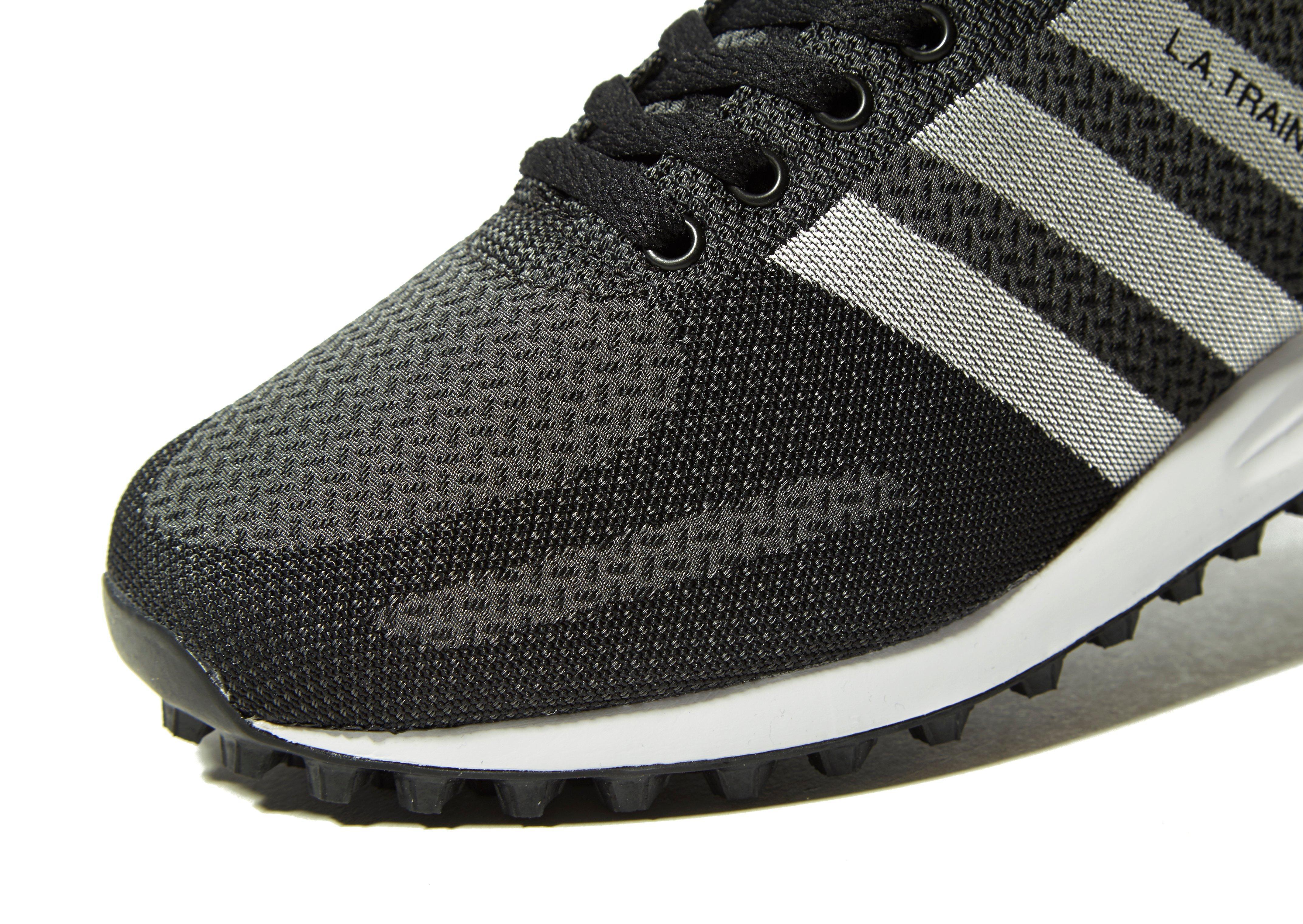 Adidas Originals - Black La Trainer Weave for Men - Lyst. View fullscreen