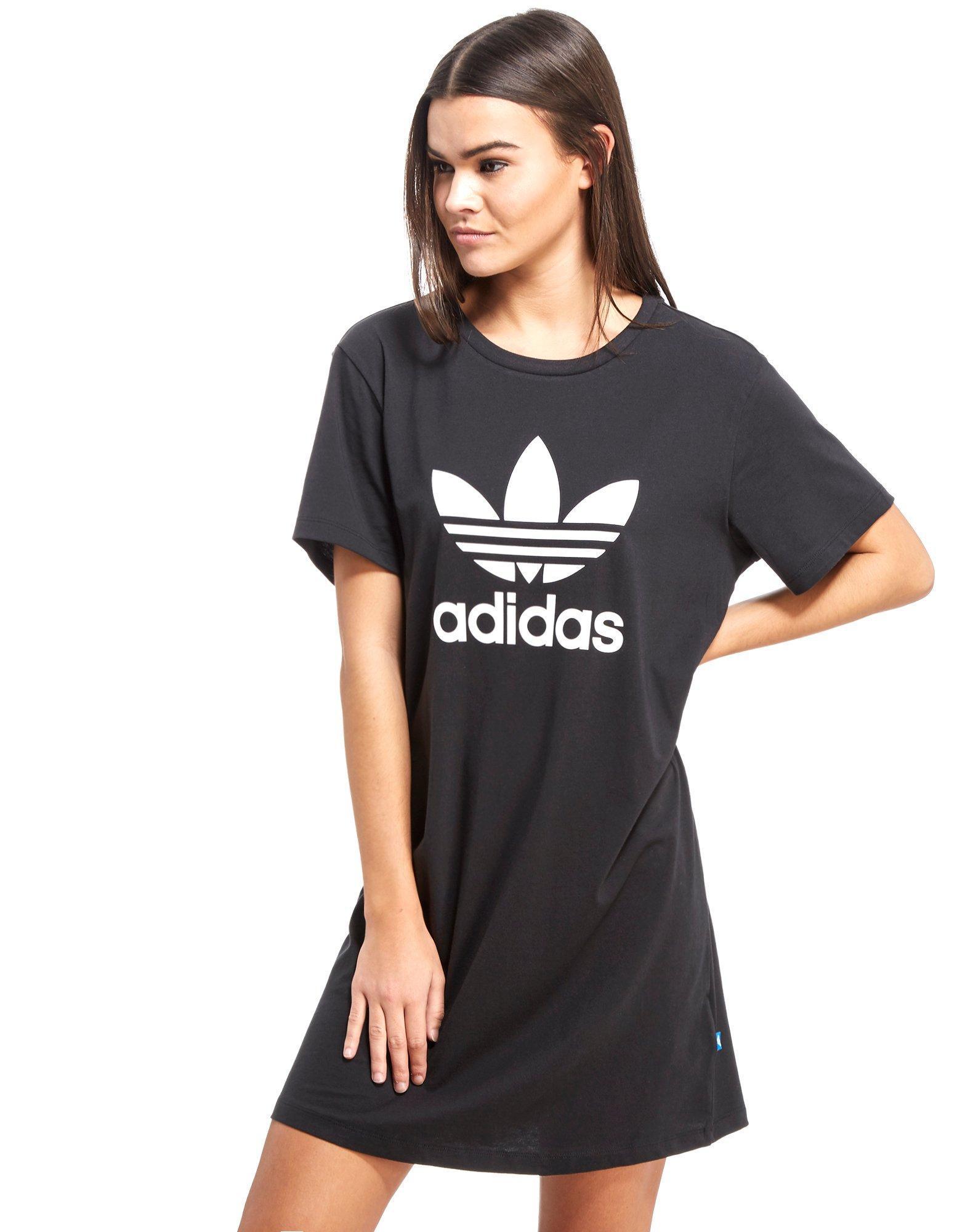 Originals Black In Lyst Trefoil Dress Shirt T Adidas zf4qwf