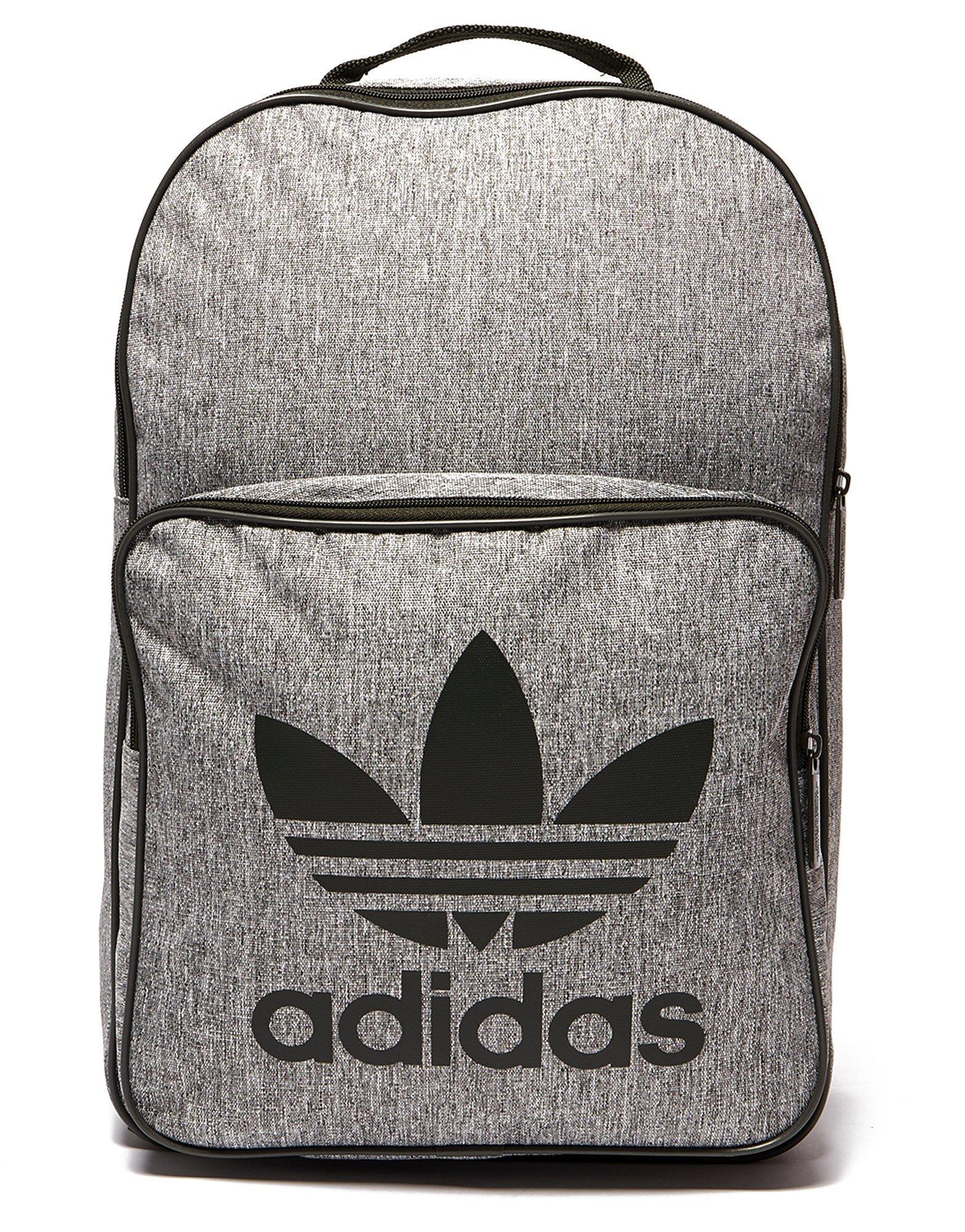 Lyst - adidas Originals Classic Trefoil Backpack in Gray for Men 5d4d6a29be9c3
