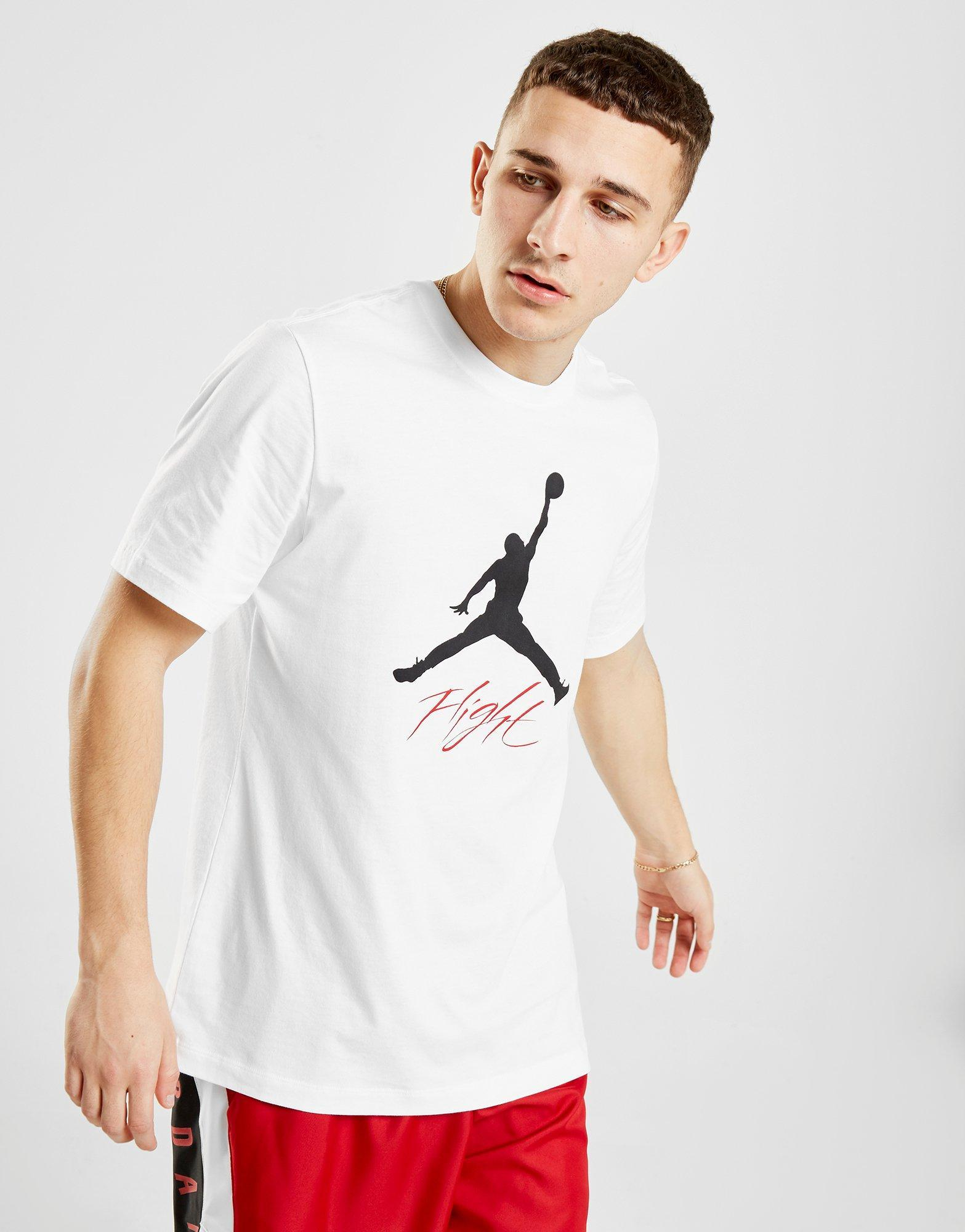 d70f6f48549542 Lyst - Nike Jumpman Flight T-shirt in White for Men