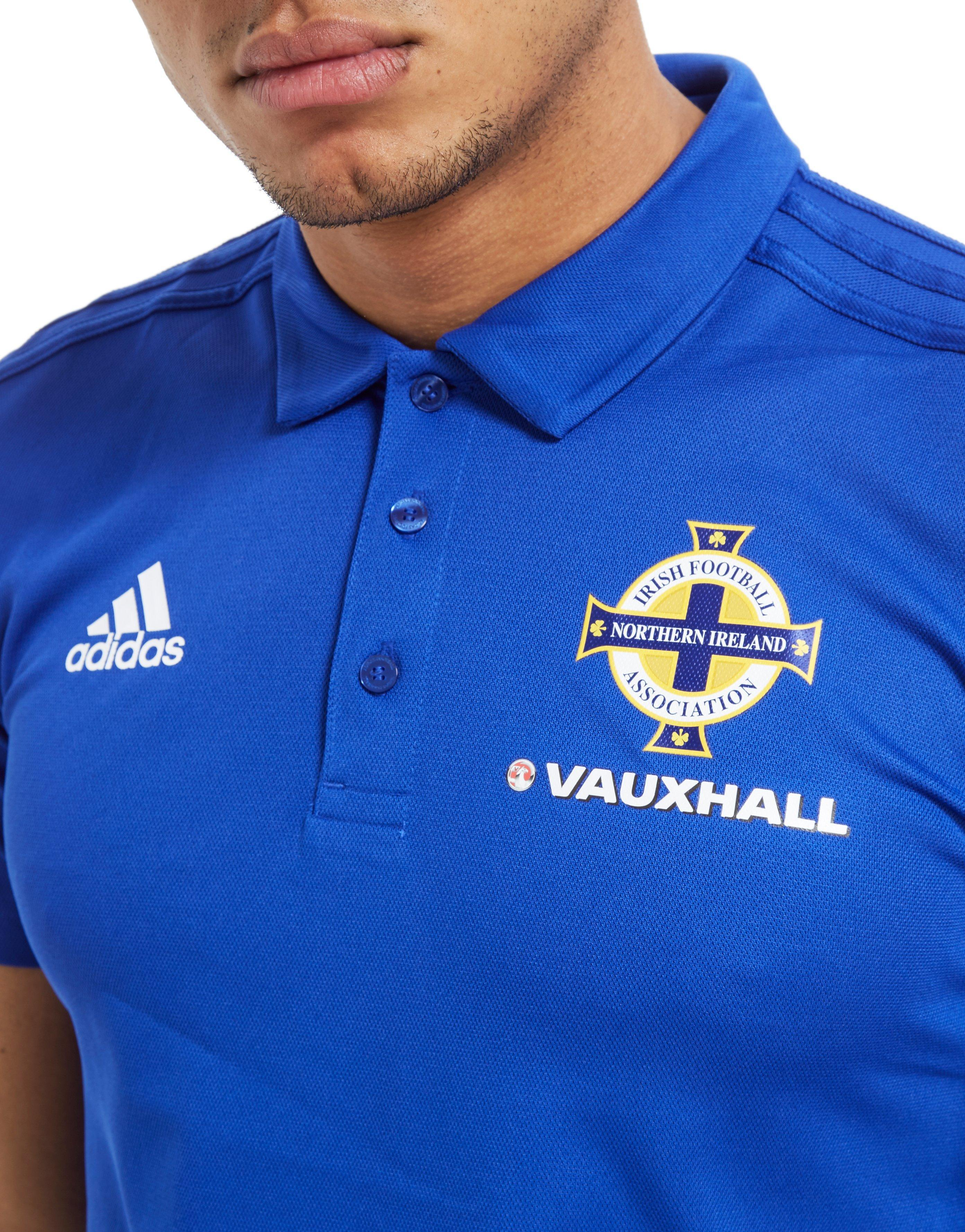 983862d46dd adidas Northern Ireland 2018/19 Polo Shirt in Blue for Men - Lyst
