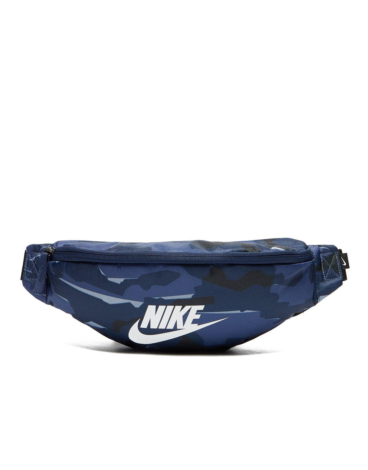 31a7239825 Lyst - Nike Camo Waist Bag in Blue for Men