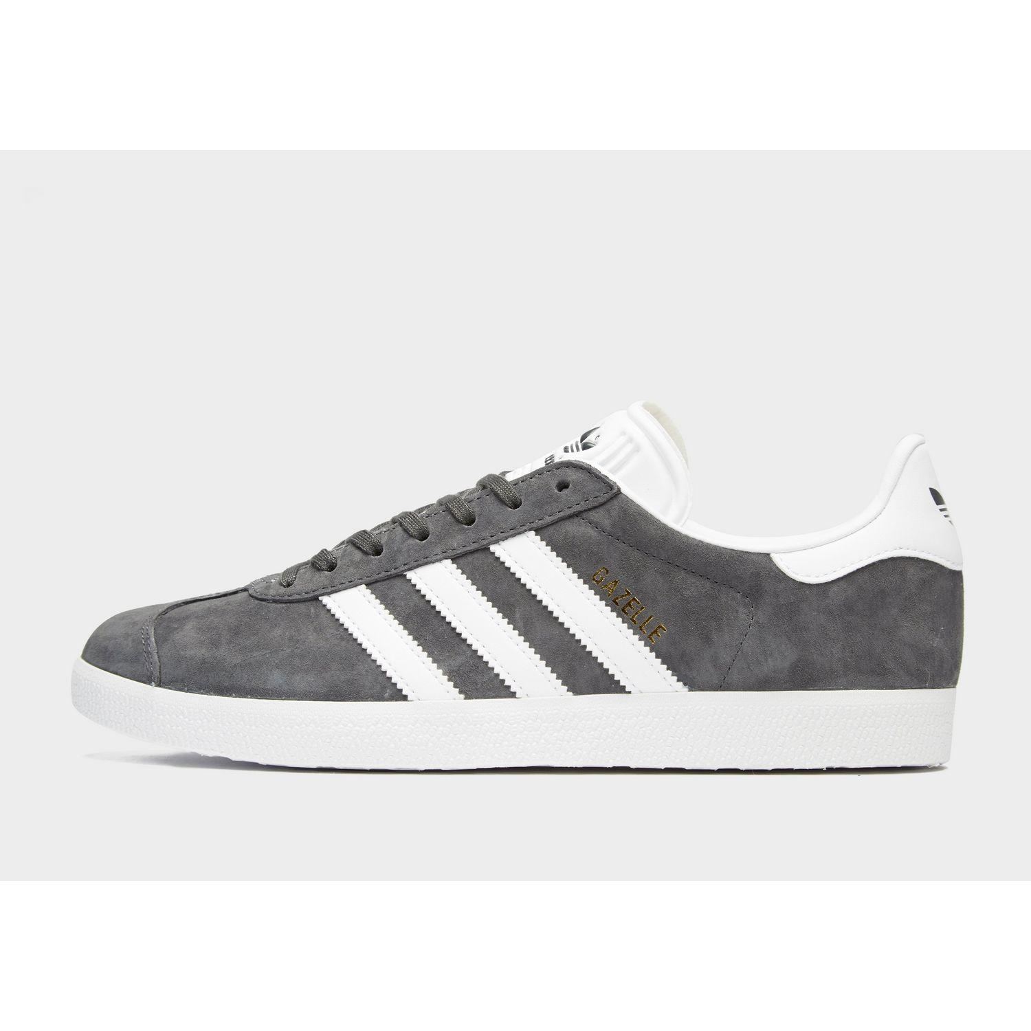 online store 38747 52099 adidas. Men s Gray Gazelle Shoes. £70 From JD Sports