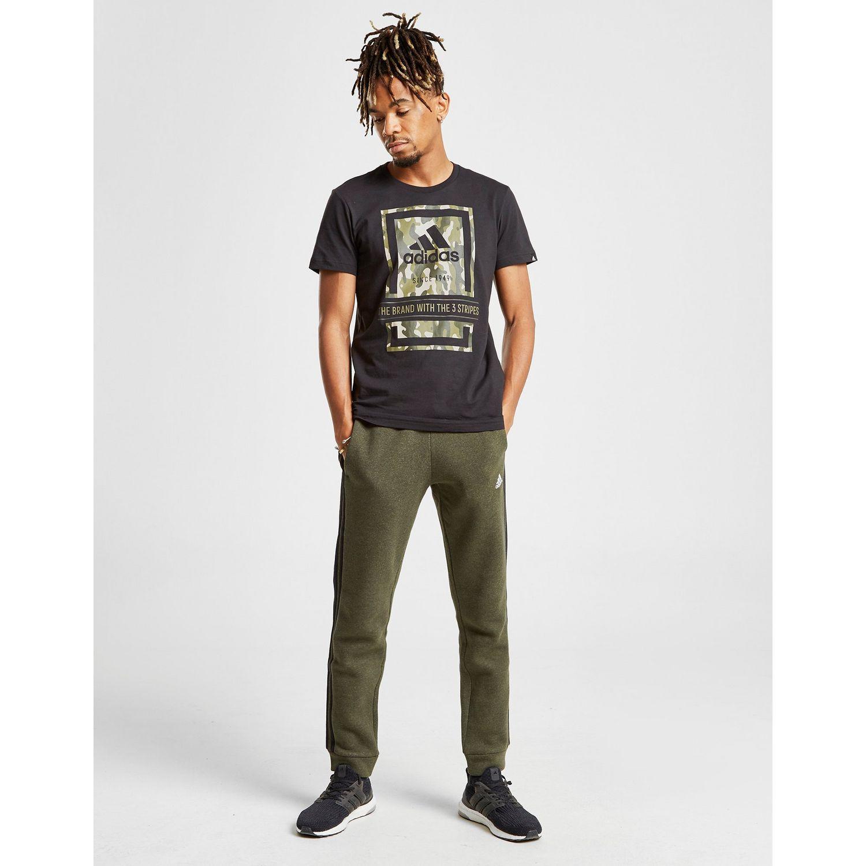 buy online a2ac7 66f02 Adidas - Black Box Camo T-shirt for Men - Lyst. View fullscreen