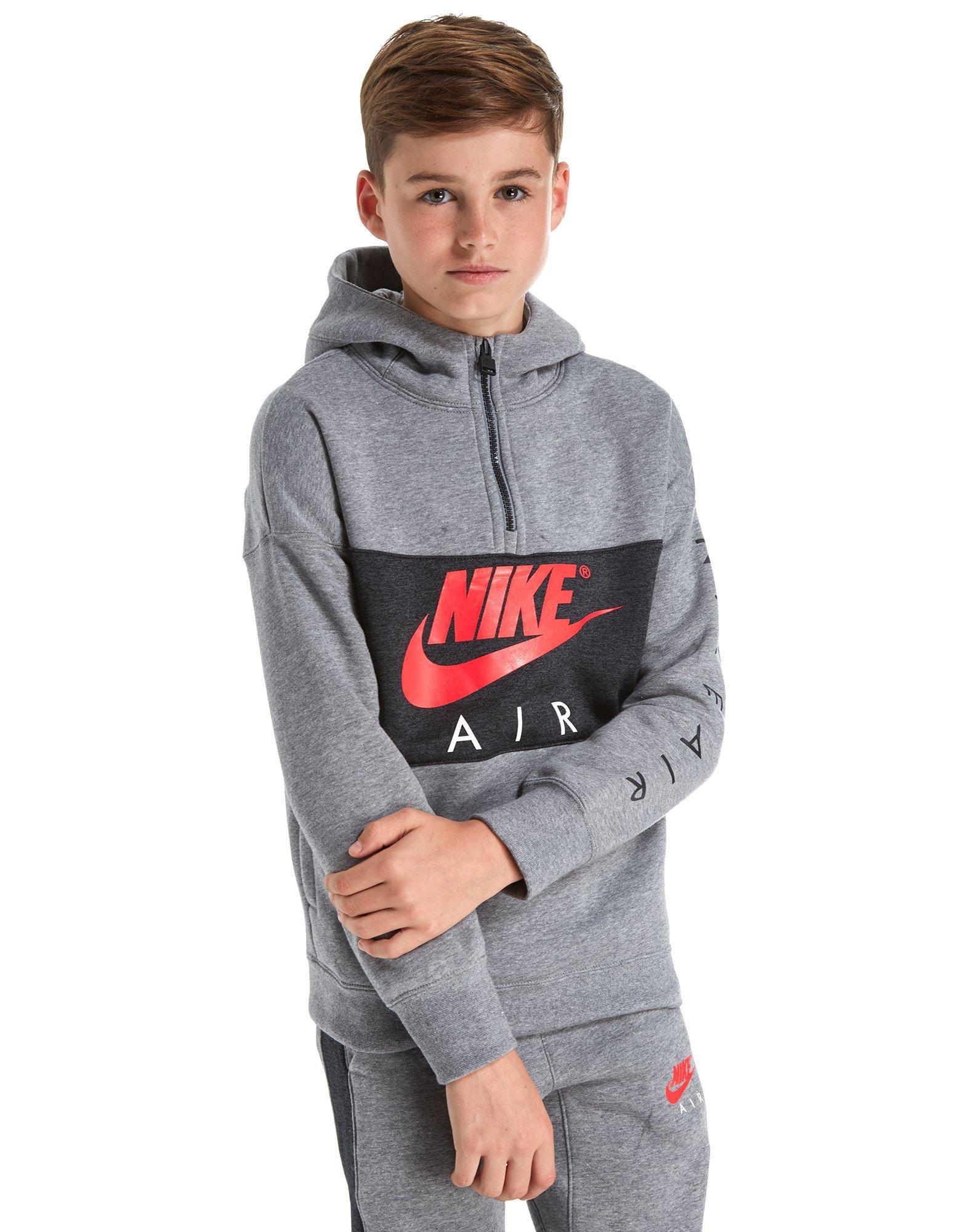 ce4333089c Lyst - Nike Air 1 4 Zip Hoodie Junior for Men