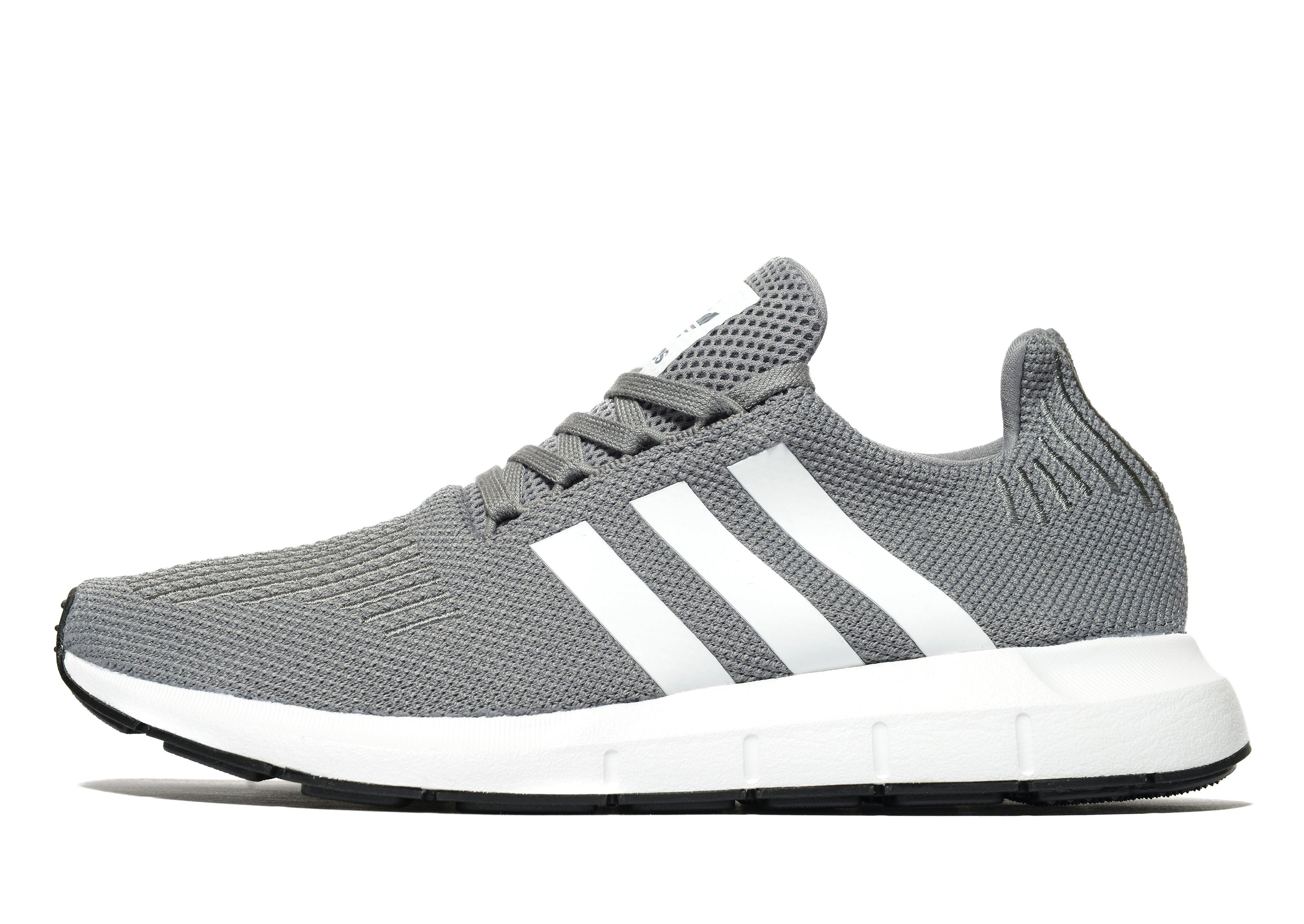 fe1eb148f1a52 Adidas Originals Swift Run in Gray for Men - Lyst