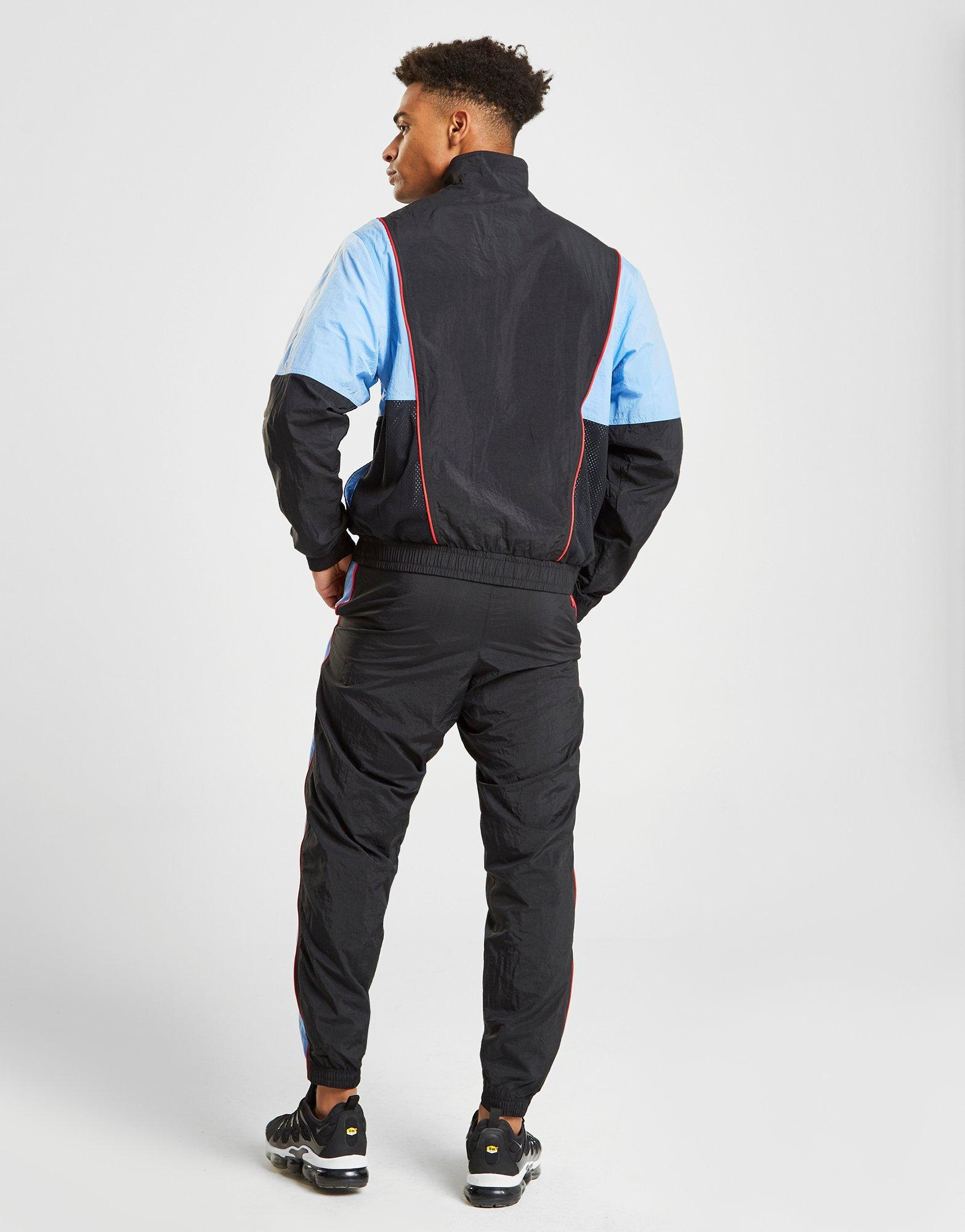 the latest 32853 72377 Nike Chicago Bulls Men s Nba Tracksuit in Black for Men - Lyst