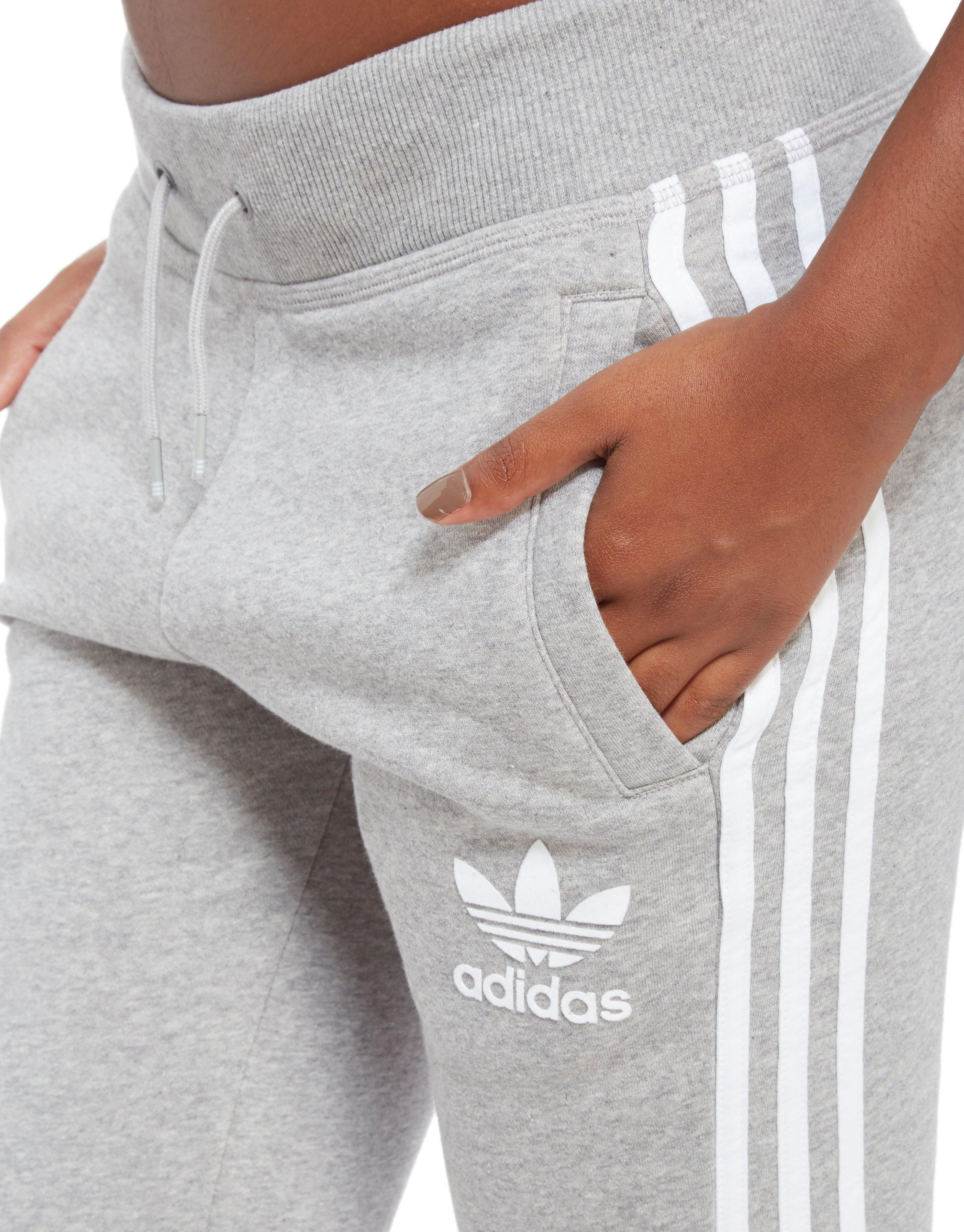 Lyst - adidas Originals California Tracksuit Bottoms in Gray 1e3bdb31dc