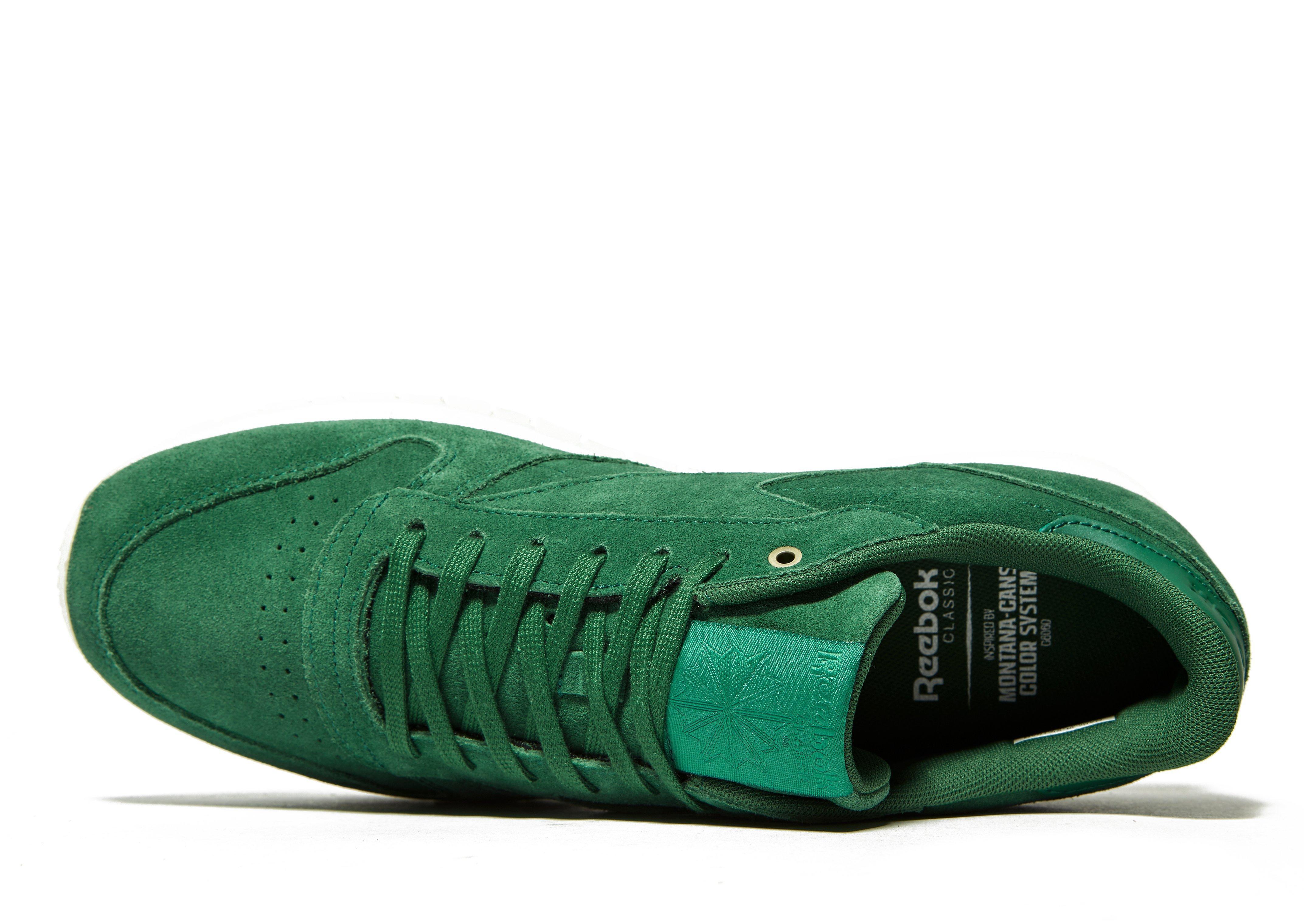 2e763688b3c1cc Lyst - Reebok Classic Leather Mcc in Green for Men