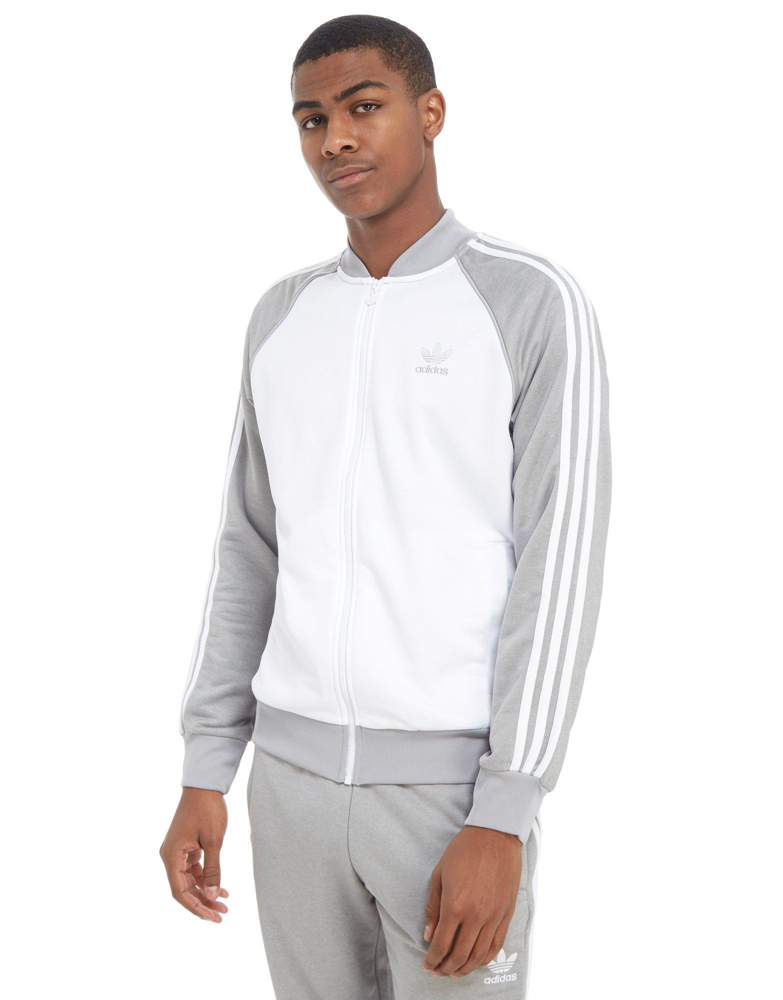 adidas Originals Mens Superstar Track Top Sportswear Mens Sportswear ... f69bf1397