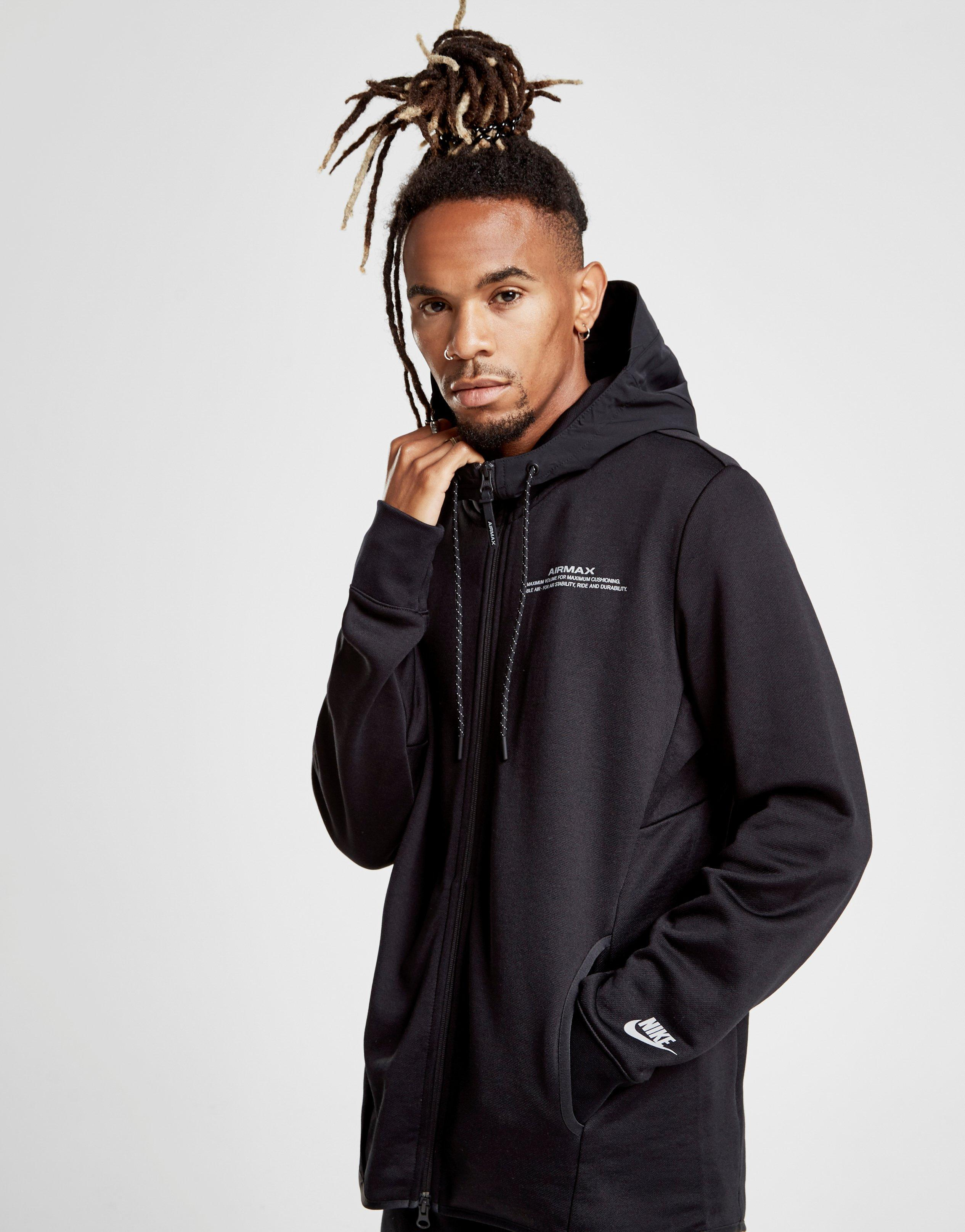 ddcd3f0493d4 Nike Air Max French Terry Hoodie in Black for Men - Lyst