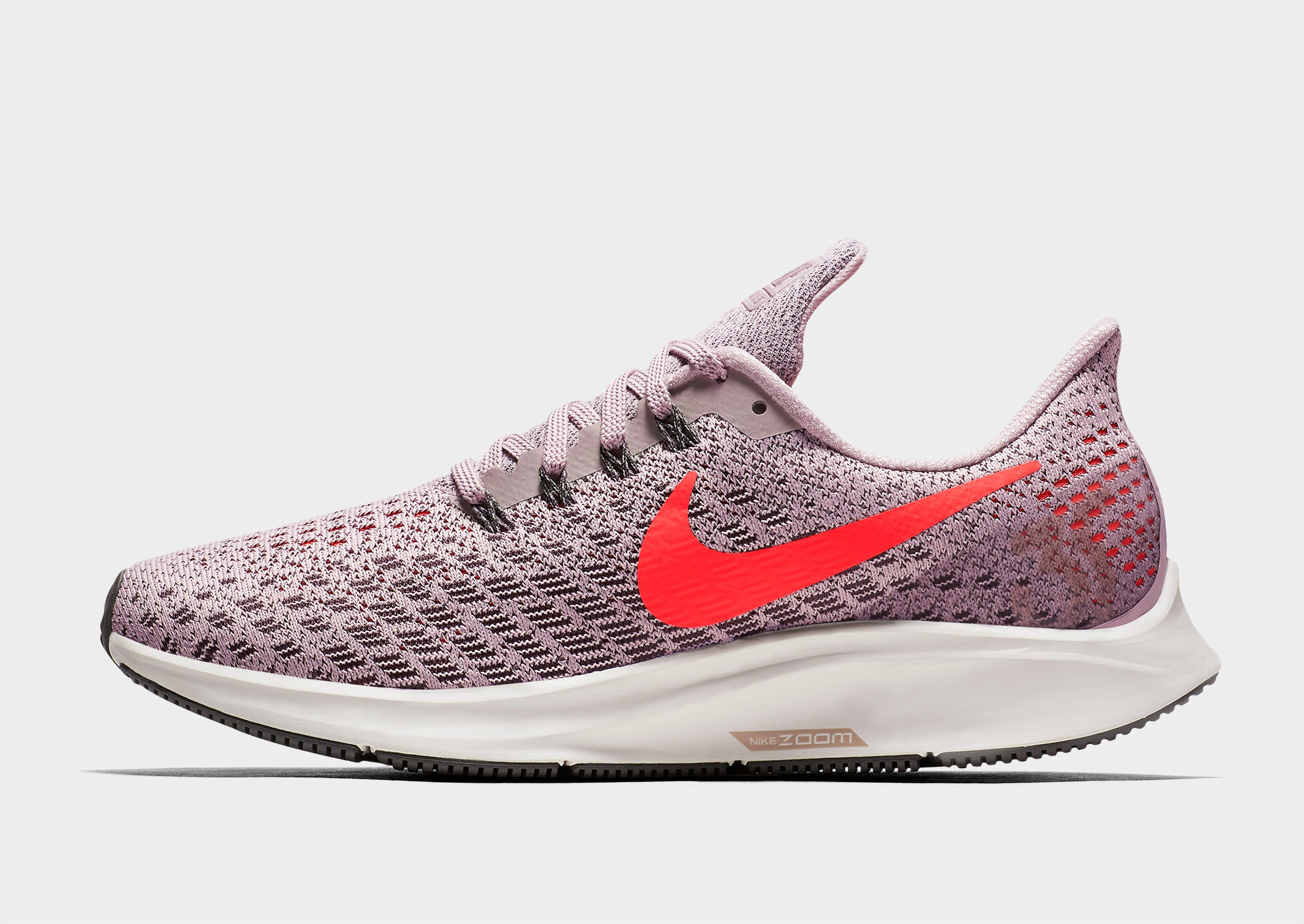 new concept 9578b 646f2 Lyst - Nike Air Zoom Pegasus 35 in Pink - Save 1.4492753623188435%  nike  free 3.0 women india. air max 90 jd sports ...