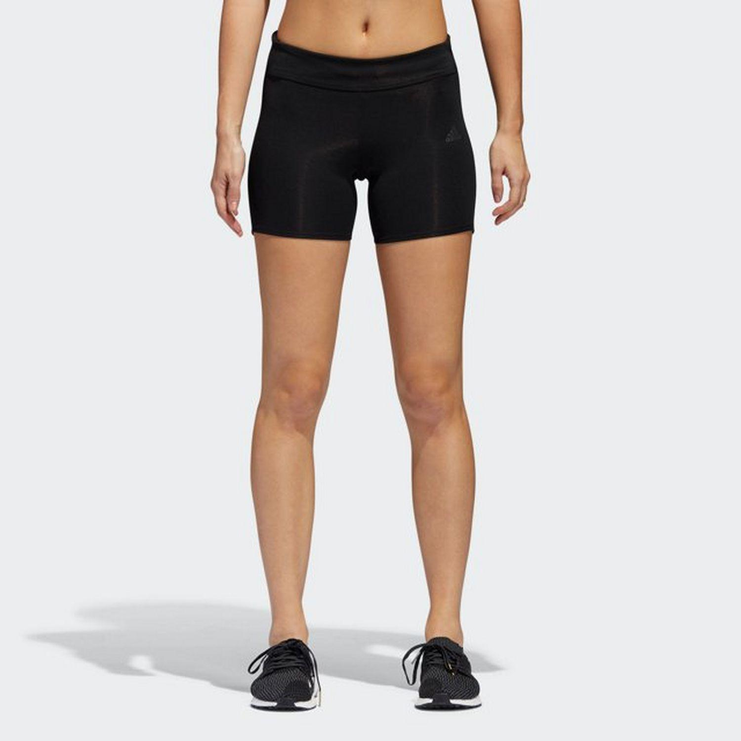 324d6542e32 Lyst - adidas Response Short Tights in Black