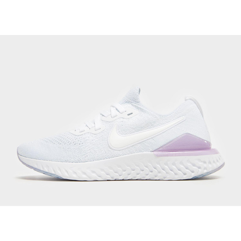 d2cebef1fc6eae Nike Epic React Flyknit 2 in White - Lyst