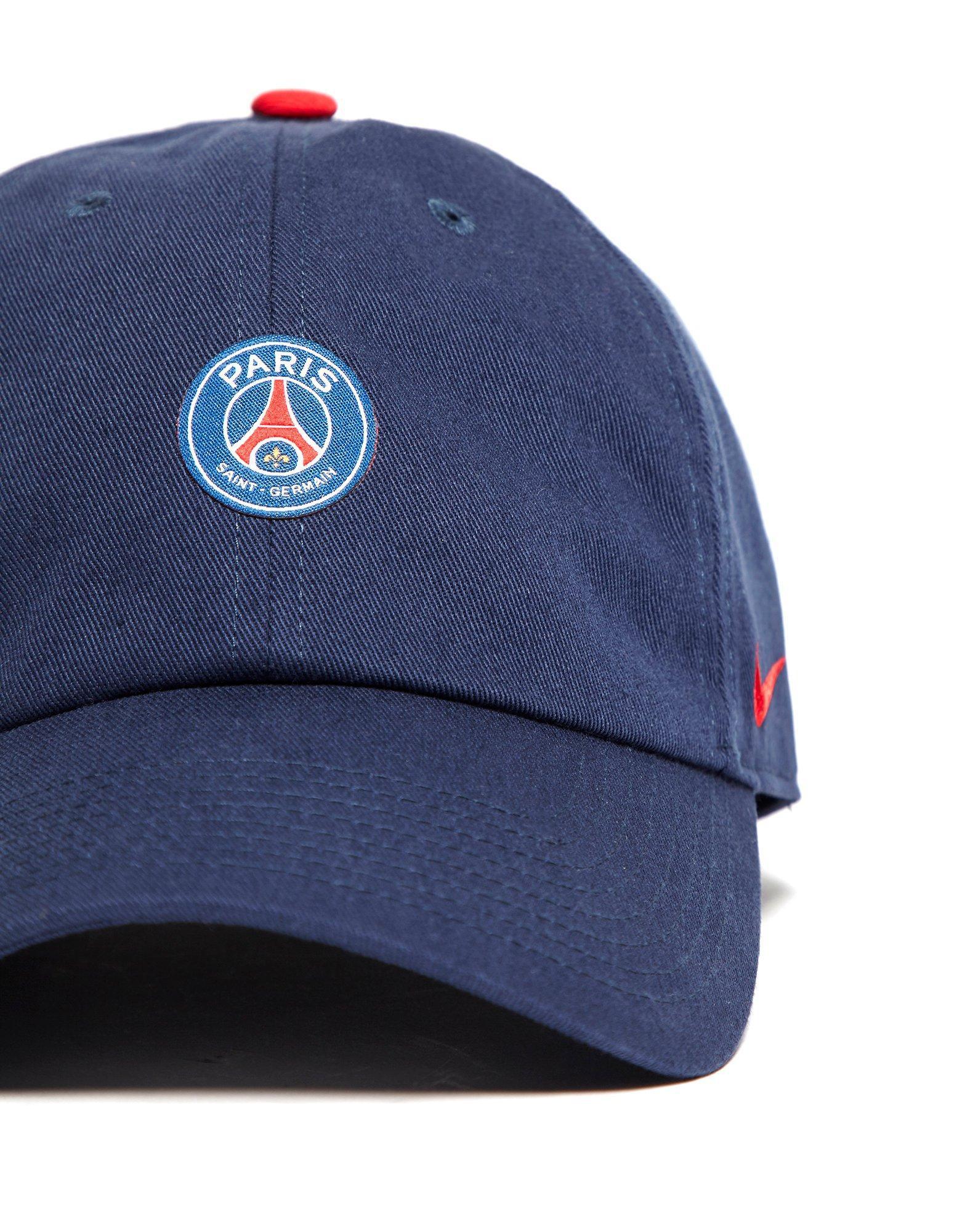 a0fa630b30e Nike Paris Saint Germain H86 Cap in Blue for Men - Lyst