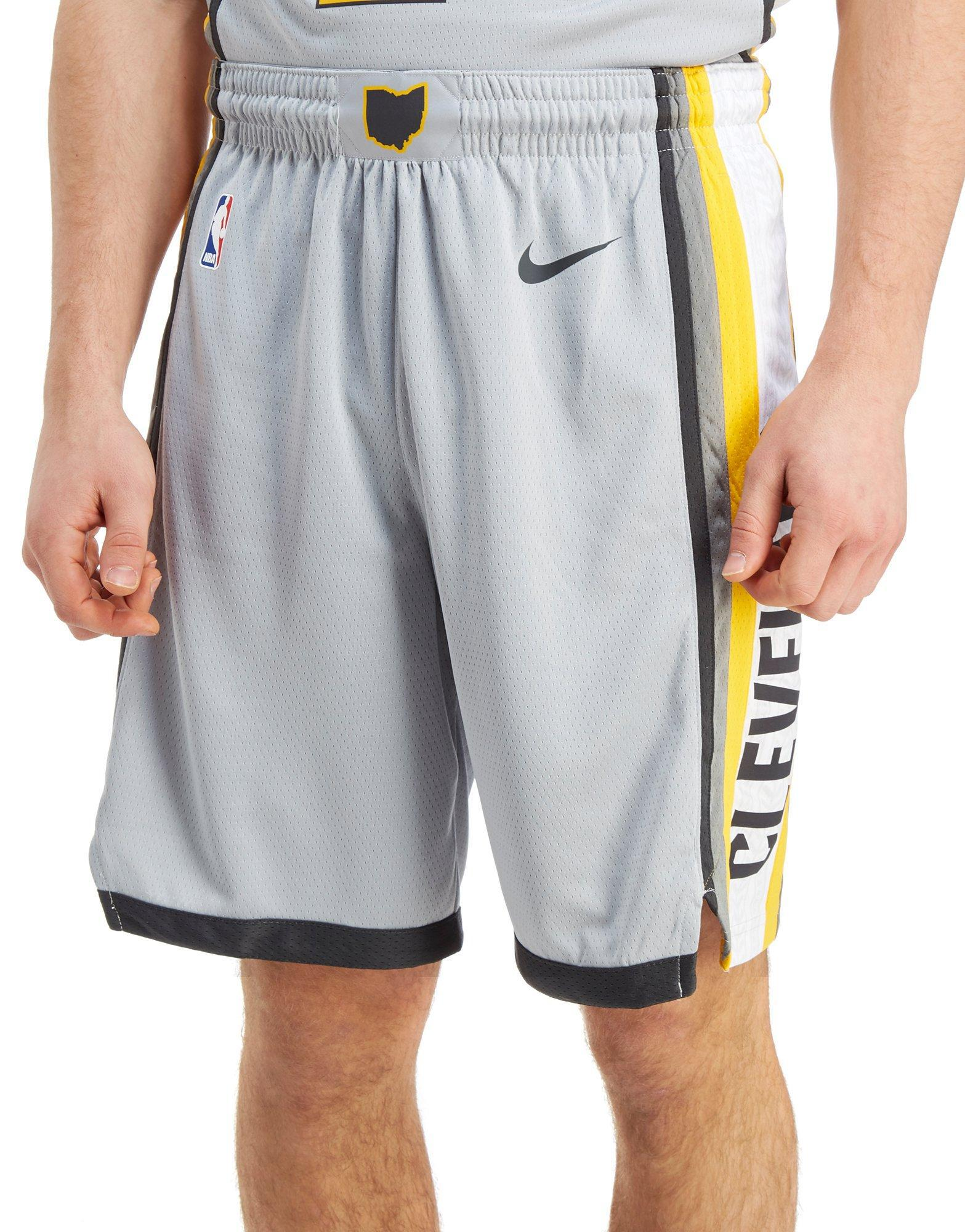 ebbeb10023e Lyst - Nike Nba Cleveland Cavaliers City Shorts for Men