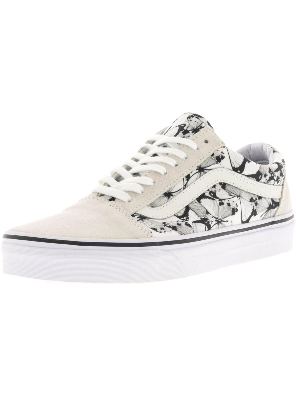 13d1fac417 Lyst - Vans Old Skool Butterfly Ankle-high Canvas Skateboarding Shoe ...