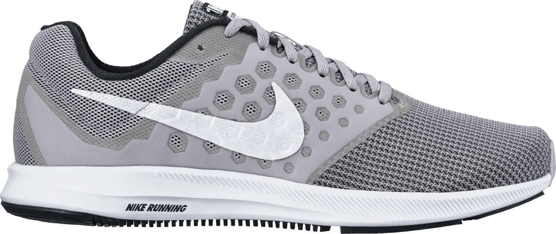 230f5ab66fcb Lyst - Nike 852459-007  Downshifter 7 Grey White Running Sneaker in ...
