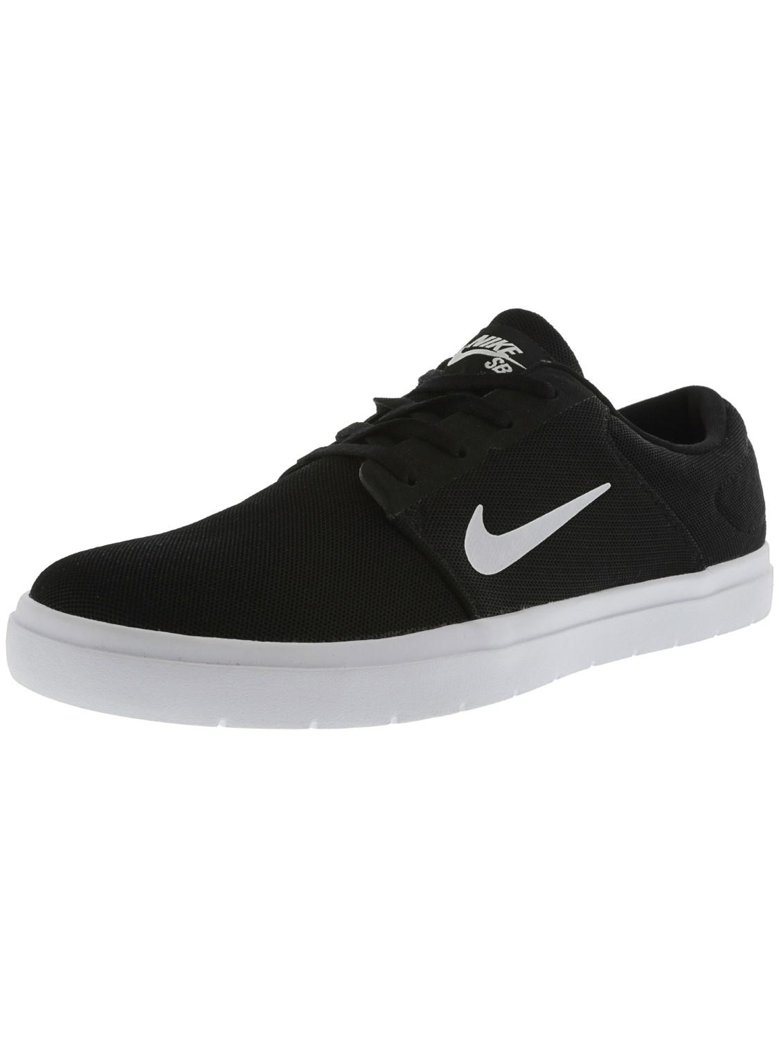 4ae9942ce304 Lyst - Nike Sb Portmore Renew Black   White Anthracite Ankle-high ...
