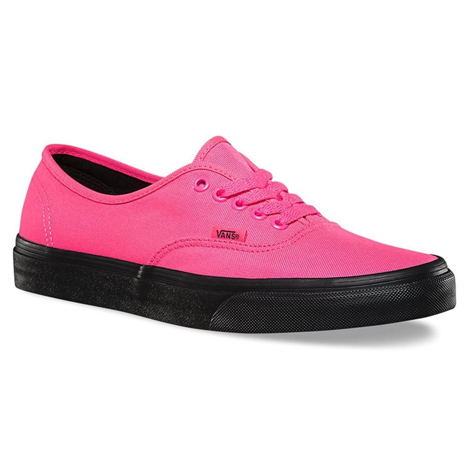 e6d51259a2 Lyst - Vans Mens Authentic Low Top Lace Up Fashion Sneaker in Pink ...