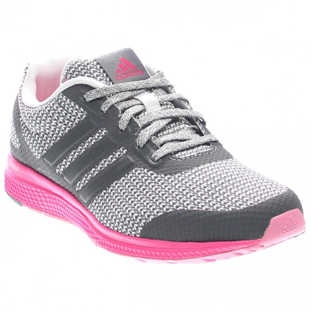Lyst - adidas Af4116  Mana Bounce Knit 2.0 Grey pink Casual Running ... f522e9287