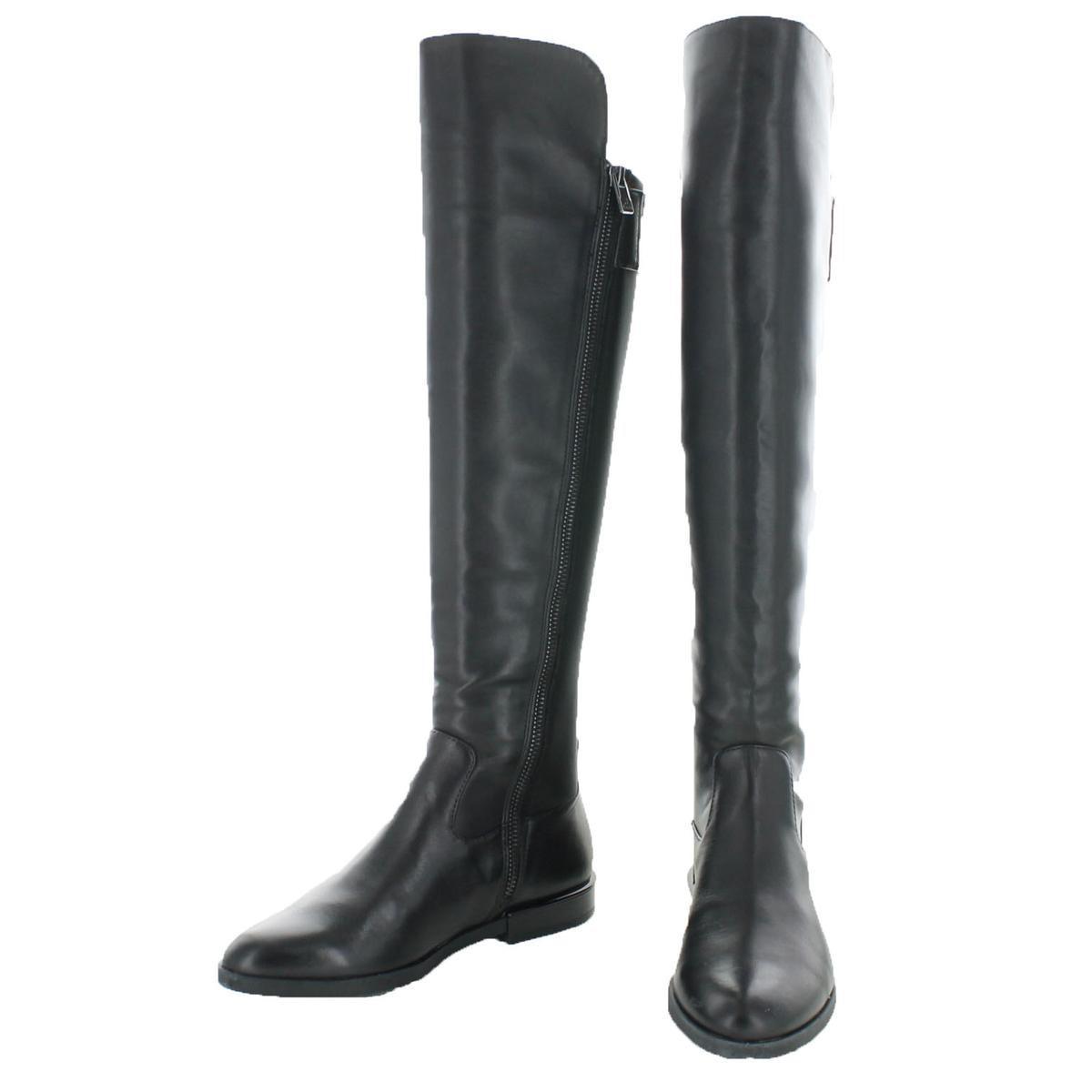 65c75991c87 Lyst - Calvin Klein Priya Cow Silk neoprene Over-the-knee Tall ...