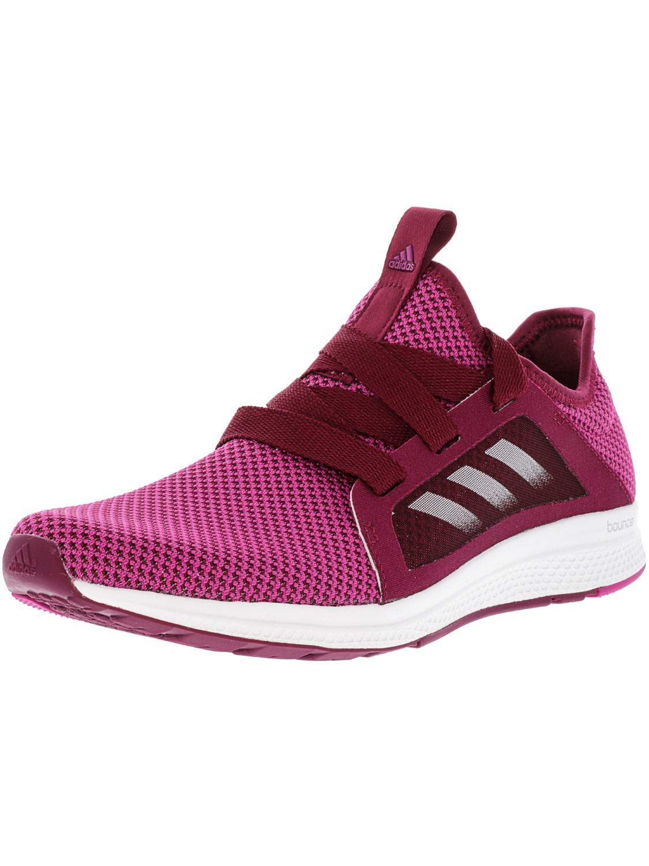 Lyst adidas edge lux rosa bianco atletico scarpette rosa