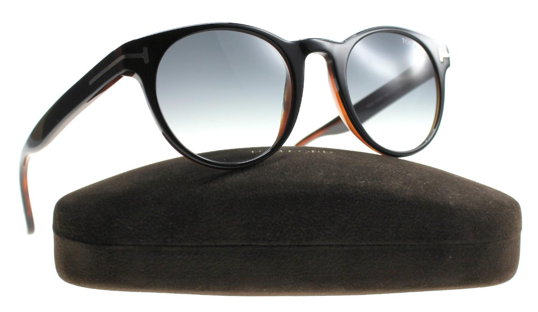 bbd596d672 Lyst - Tom Ford New Sunglasses Unisex Tf 522 05b Palmer 51mm in Black
