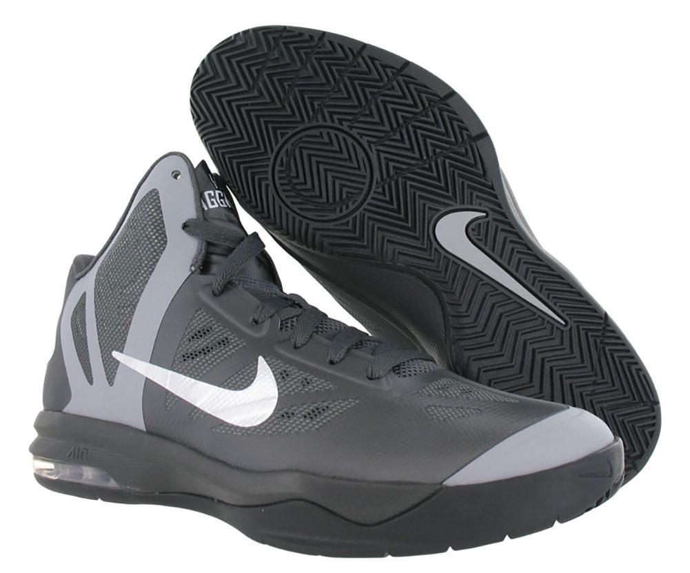 new arrivals de3f8 e506b Nike Air Max Hyperaggressor Basketball Shoes in Gray for Men - Lyst