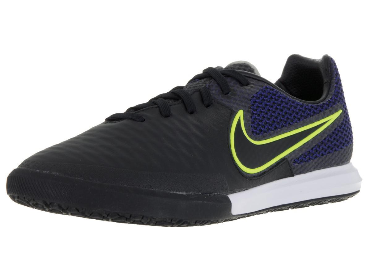 size 40 39513 dcb6c Lyst - Nike Magistax Final Ic Black black volt midnight Navy Indoor ...