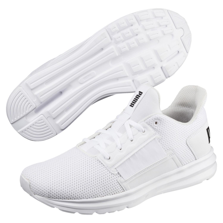 fa2952b7fd53bb PUMA - White Enzo Street Running Shoes for Men - Lyst. View fullscreen