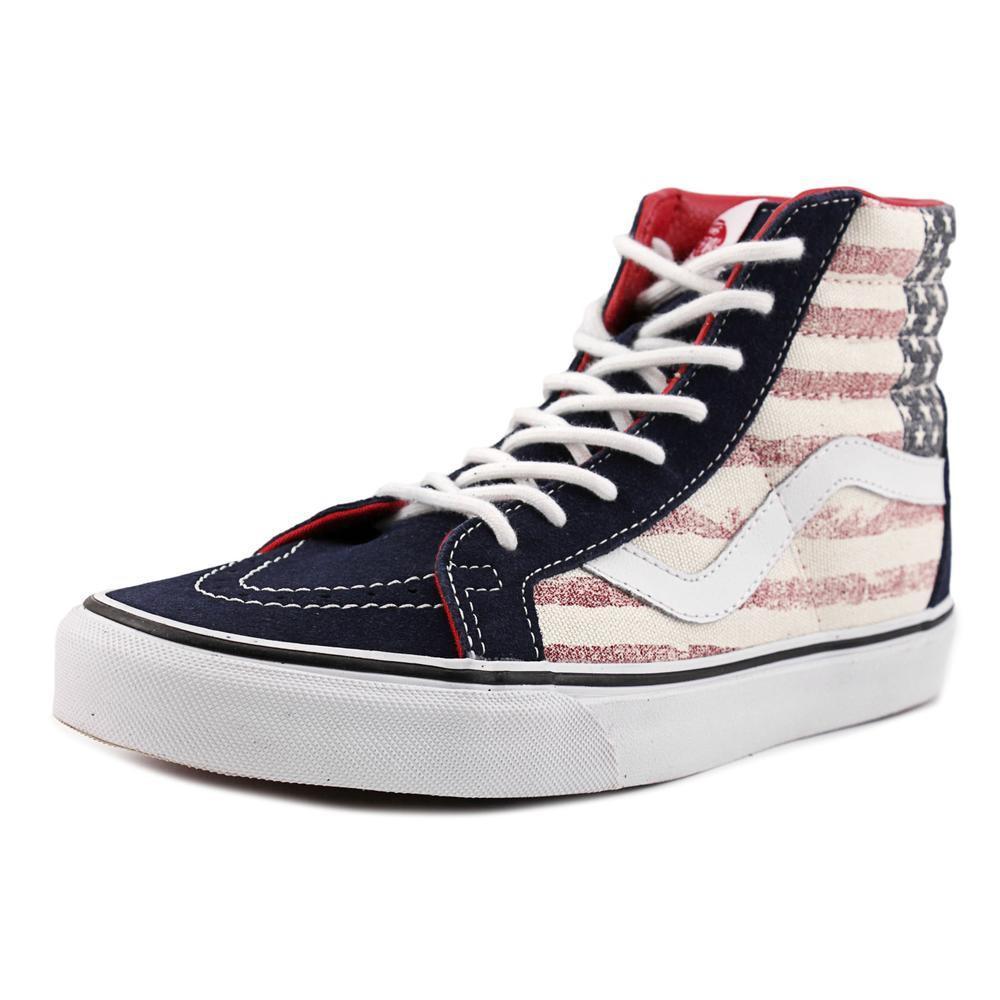 19c8744024ccb Lyst - Vans Sk8-hi Reissue Women Us 7 Multi Color Skate Shoe in Blue