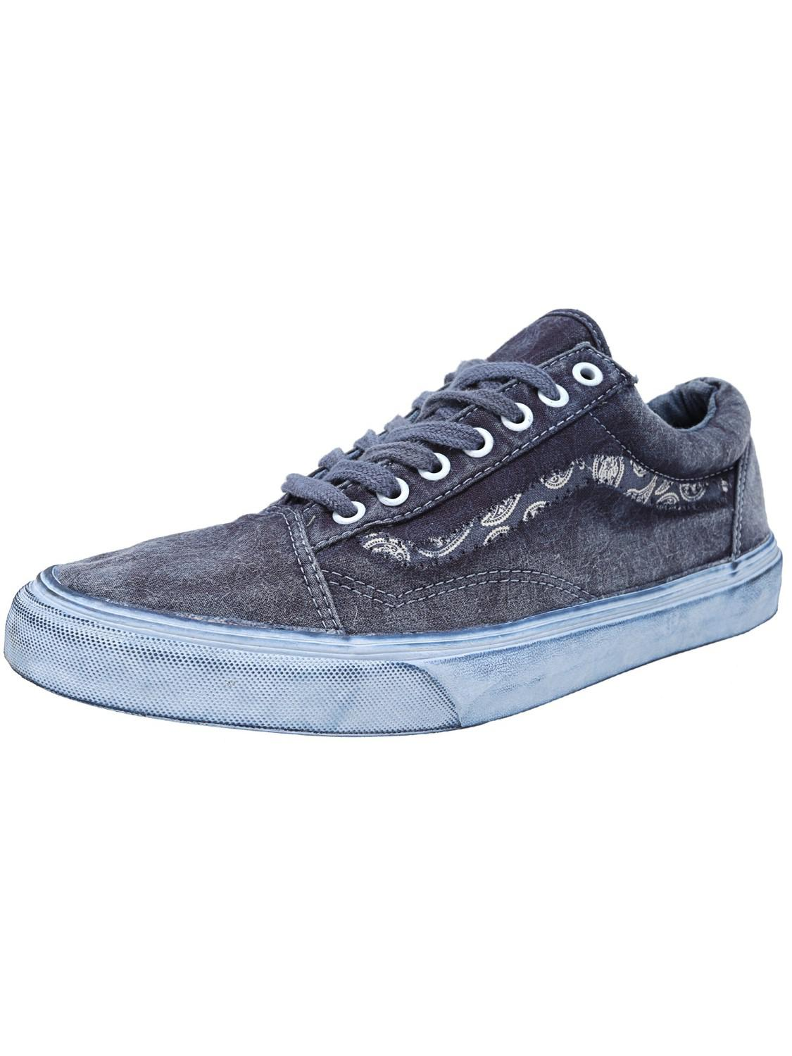 Vans Old Skool Reissue Classics overwash Paisley DRESS Bues MIS. 45