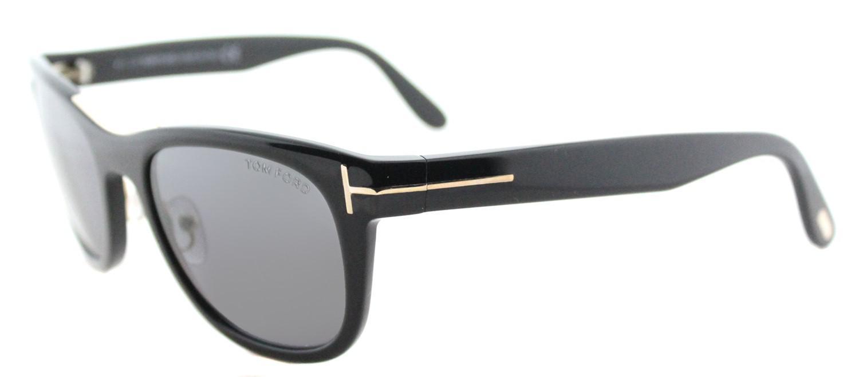 05b9e13f540 Lyst - Tom Ford Jack Tf 45 01d Unisex Shiny Black Plastic Sunglasses ...