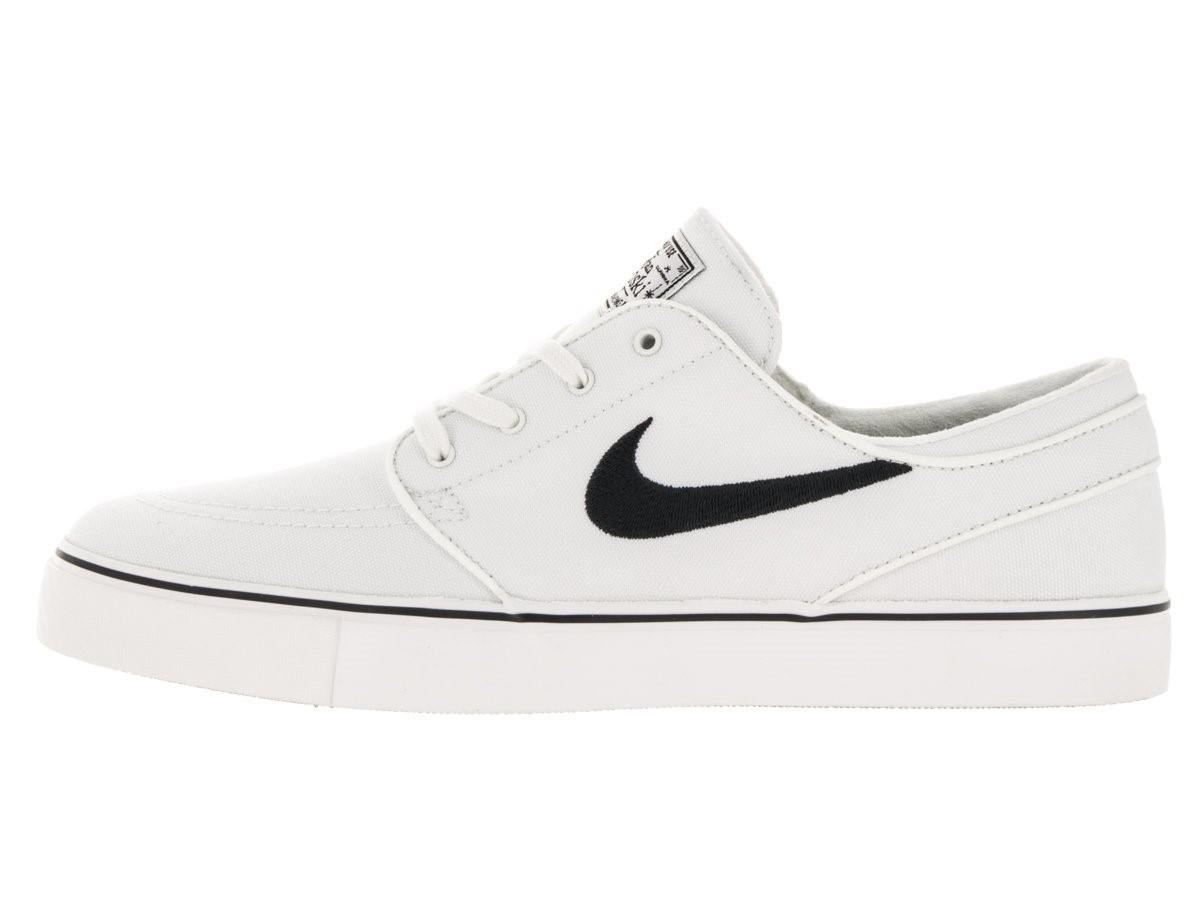 huge discount bc762 05942 Nike 615957-100   Zoom Stefan Janoski Canvas Summit White black ...