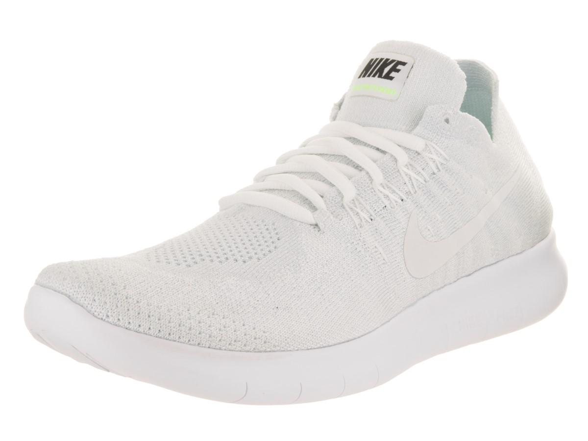 Lyst - Nike Free Rn Flyknit 2017 White white Pure Platinum Running ... fcccc2d62b70a