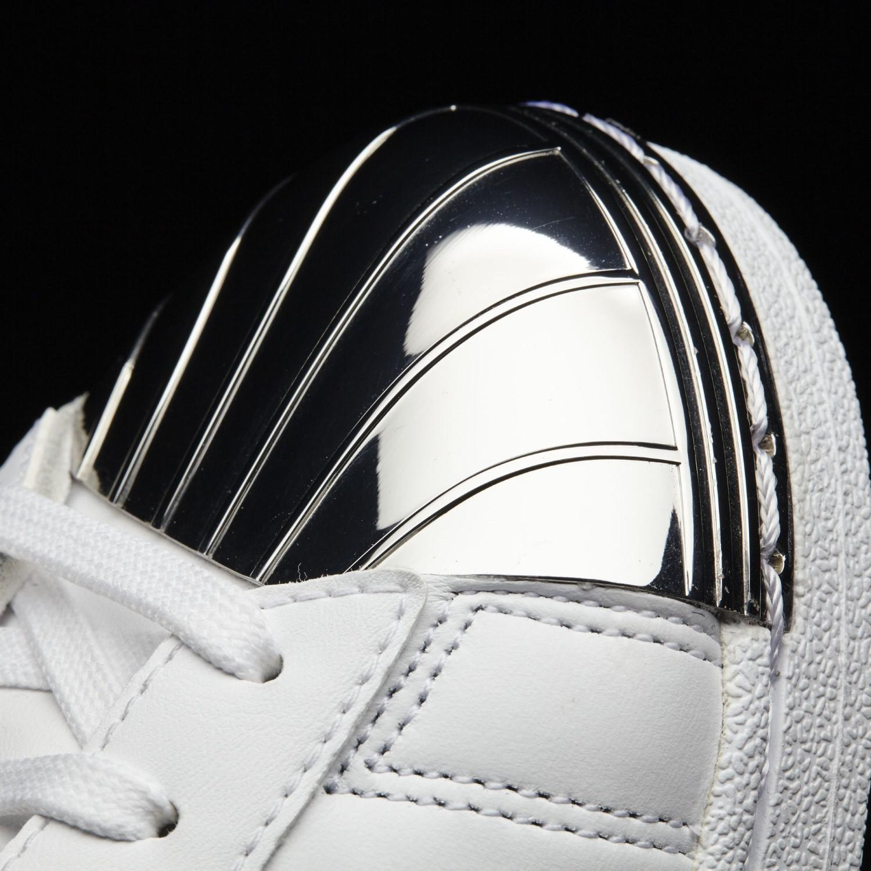 new product 33bc5 c2c6b Lyst - Adidas Bb2131 Women Promodel Metal Toe W White Black