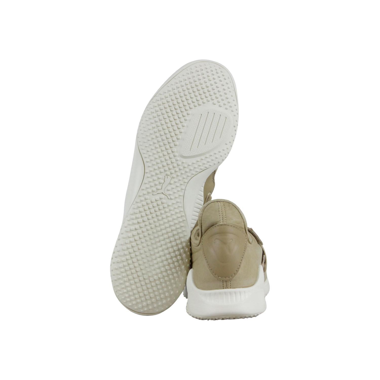 7abffca244780f Lyst - PUMA Mostro Premium Safari Whisper White Strap Sneakers in ...