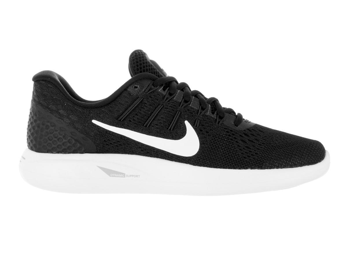 11f98f50e955b Lyst - Nike Lunarglide 8 Black white Anthracite Running Shoe 6 Women ...
