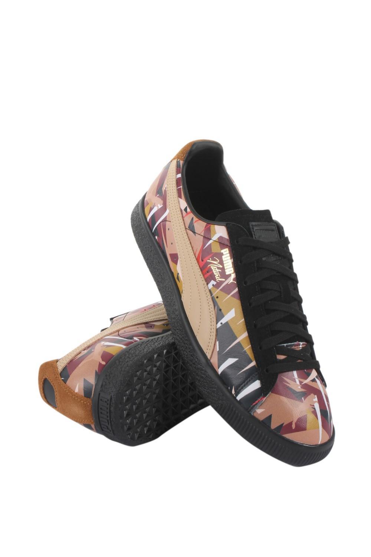 wholesale dealer 854e8 395ea Men's Black Naturel X Clyde Moon Jungle Casual Athletic & Sneakers
