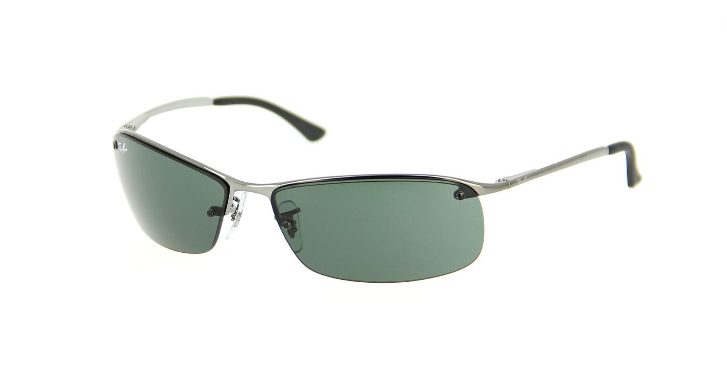 ca0087fe3d Lyst - Ray-Ban 0rb3183 004 71 63 Gunmetal green Active Lifestyle ...