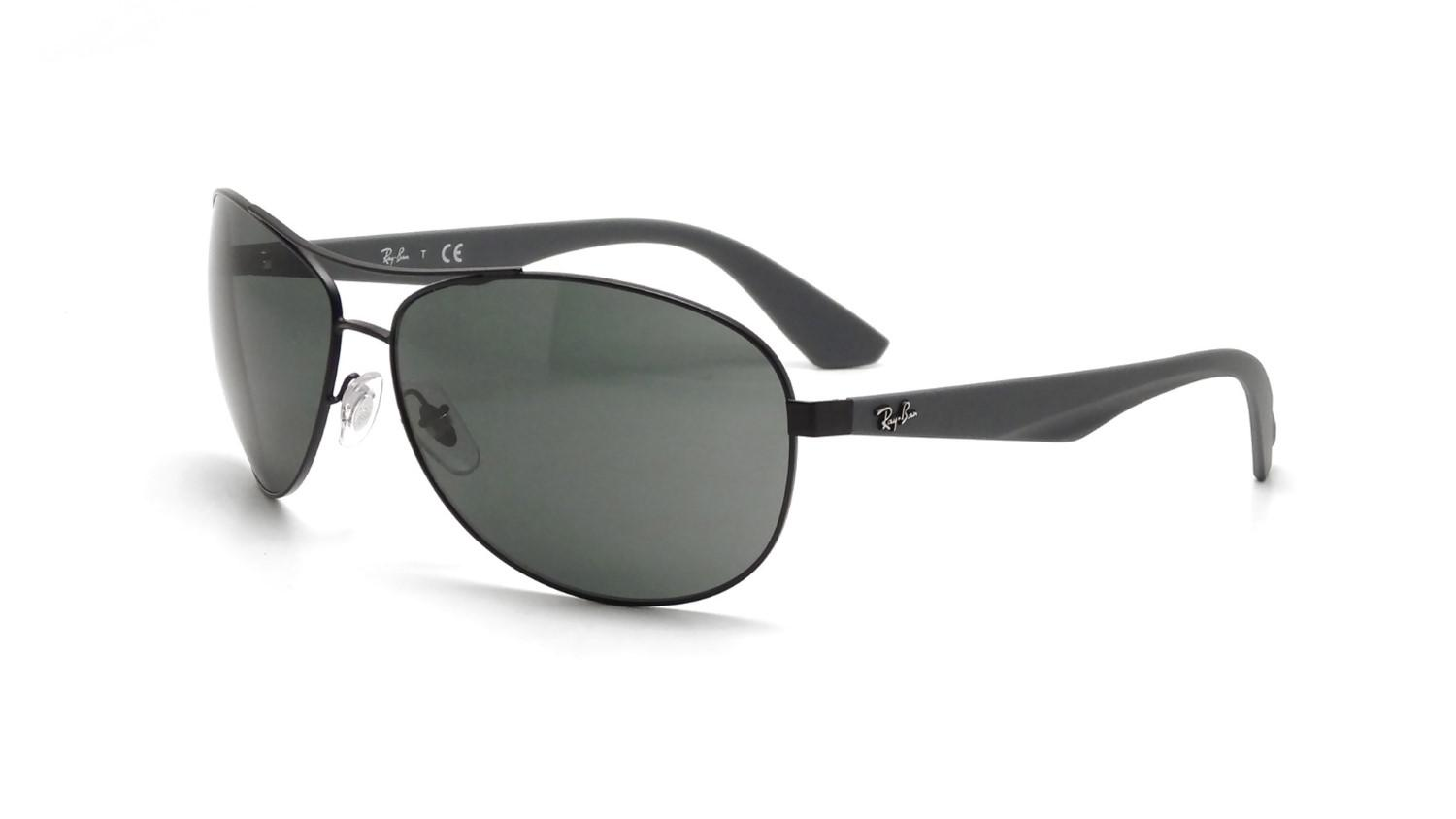 5c743e3451 Lyst - Ray-Ban 0rb3526 006 71 63 Matte Black grey Green Active ...