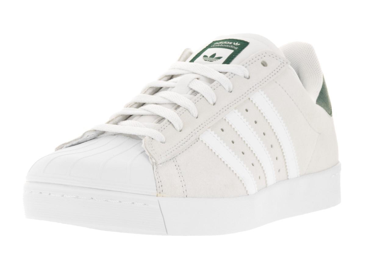 newest 00693 5f3a4 Lyst - Adidas Superstar Vulc Adv Crywhtftwwhtcgreen Casual S